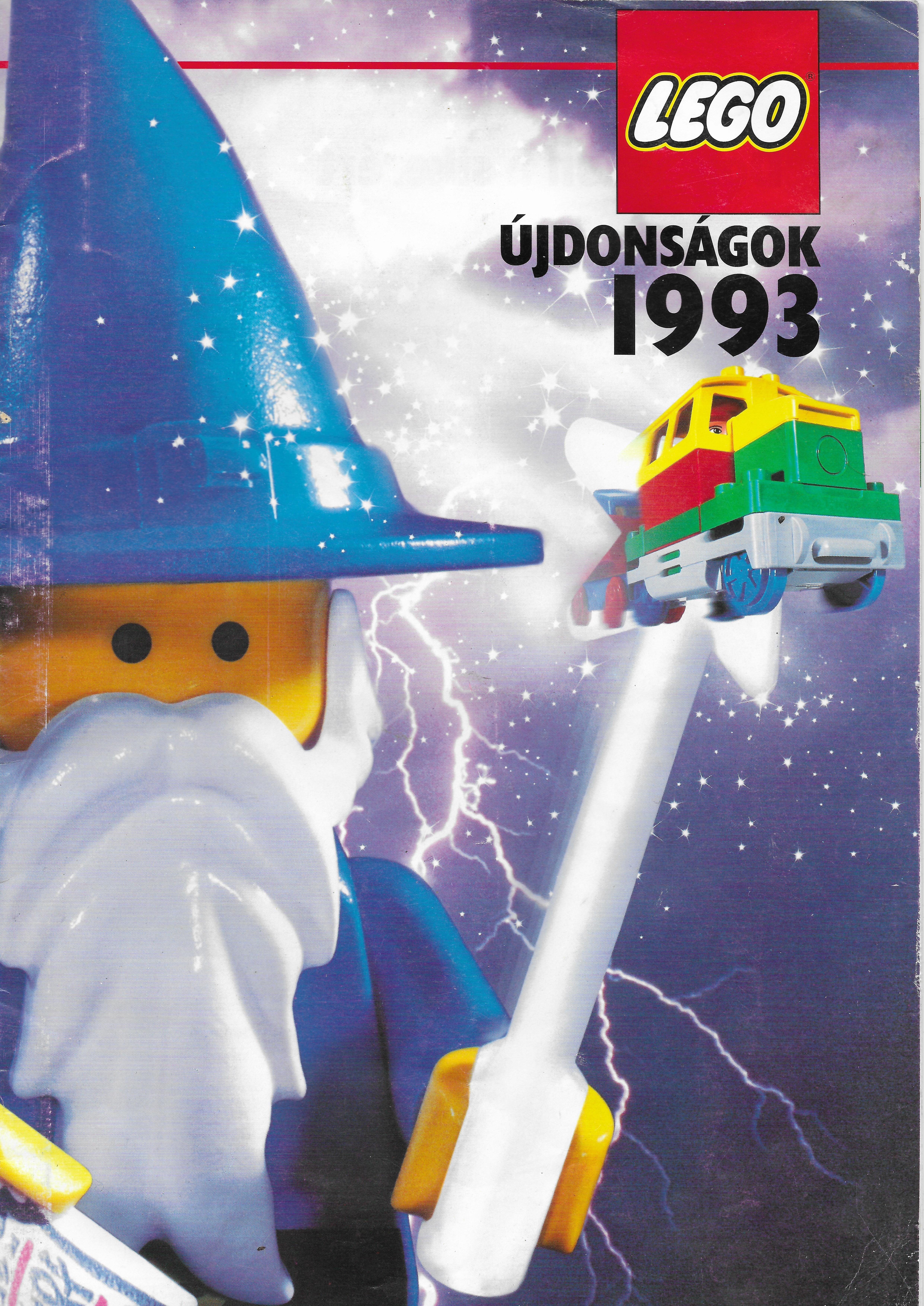 Magyar nyelvű, kereskedőknek szóló Lego reklámanyag 1993-ból