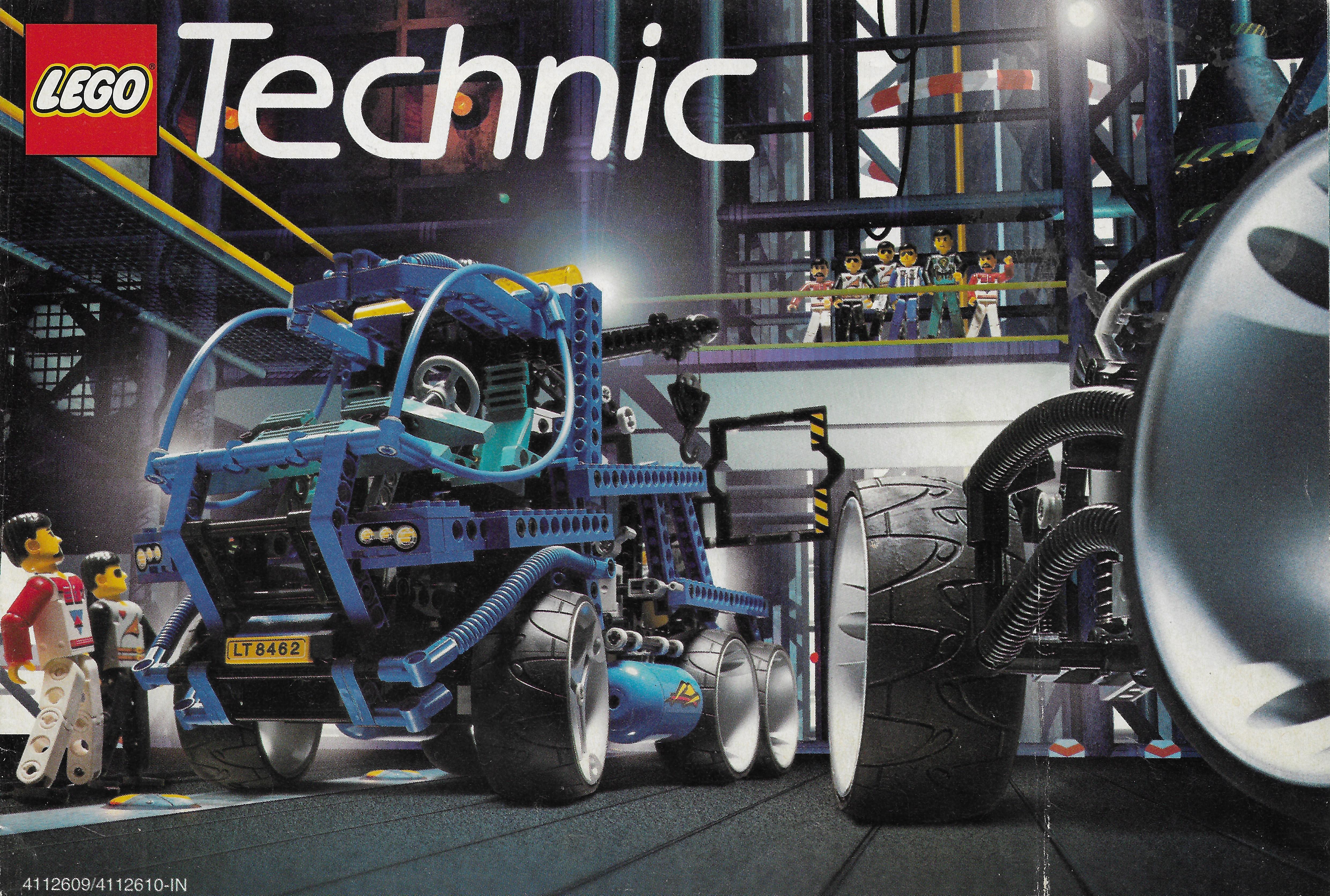1998-as Lego Technic katalógus
