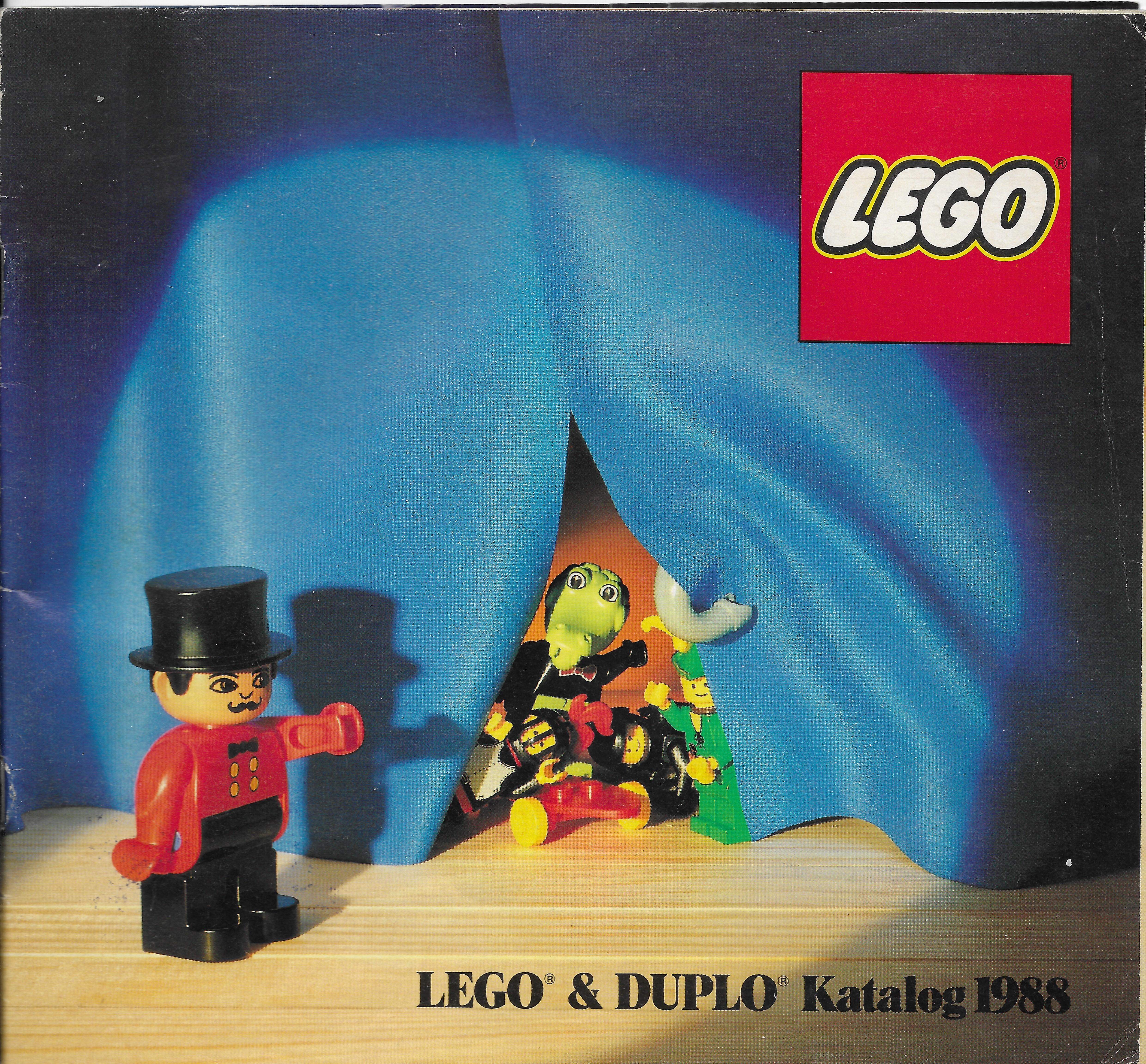 1988-as osztrák Lego katalógus