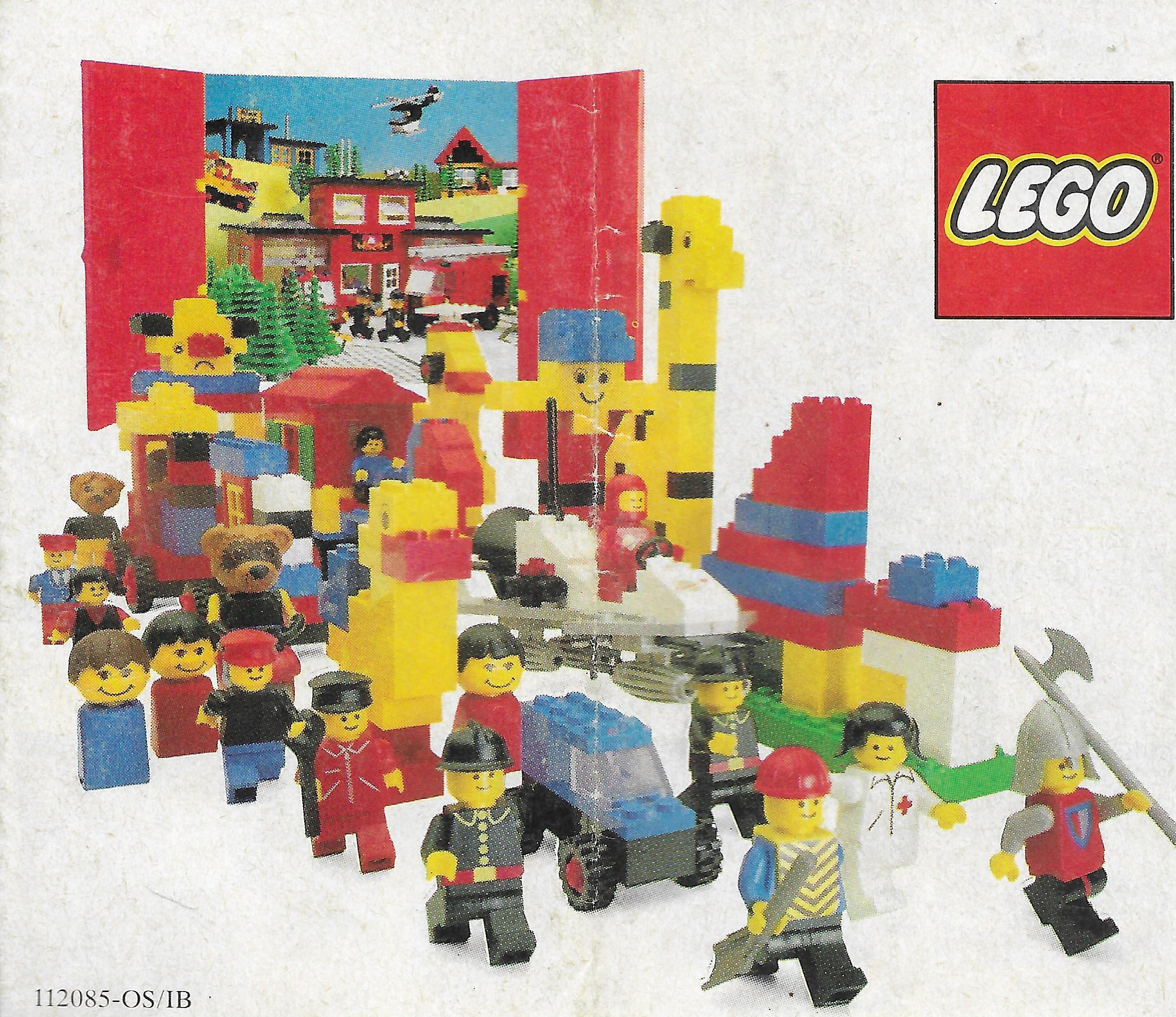 1981-es kisméretű Lego insert
