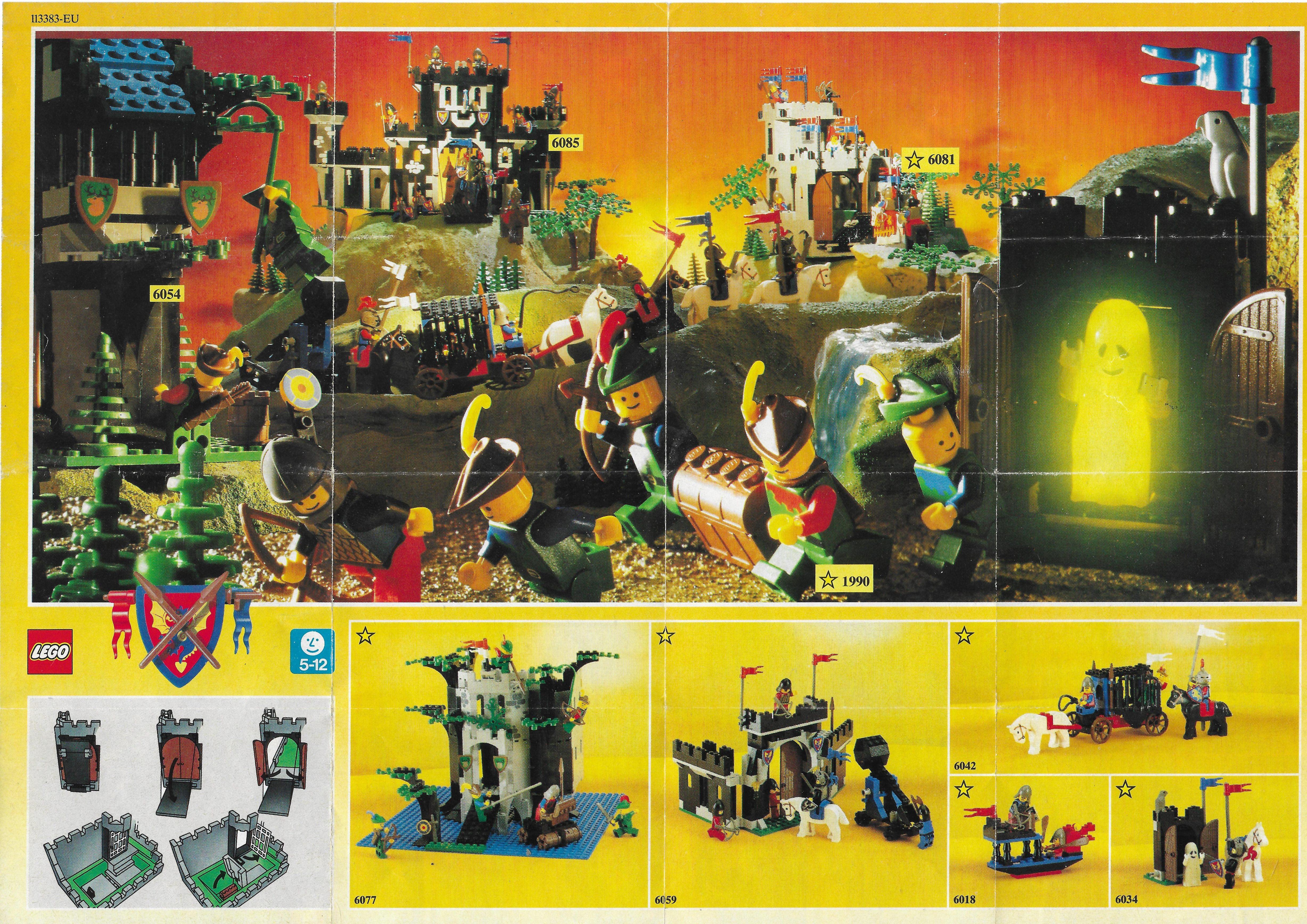 1990-es Lego Castle insert
