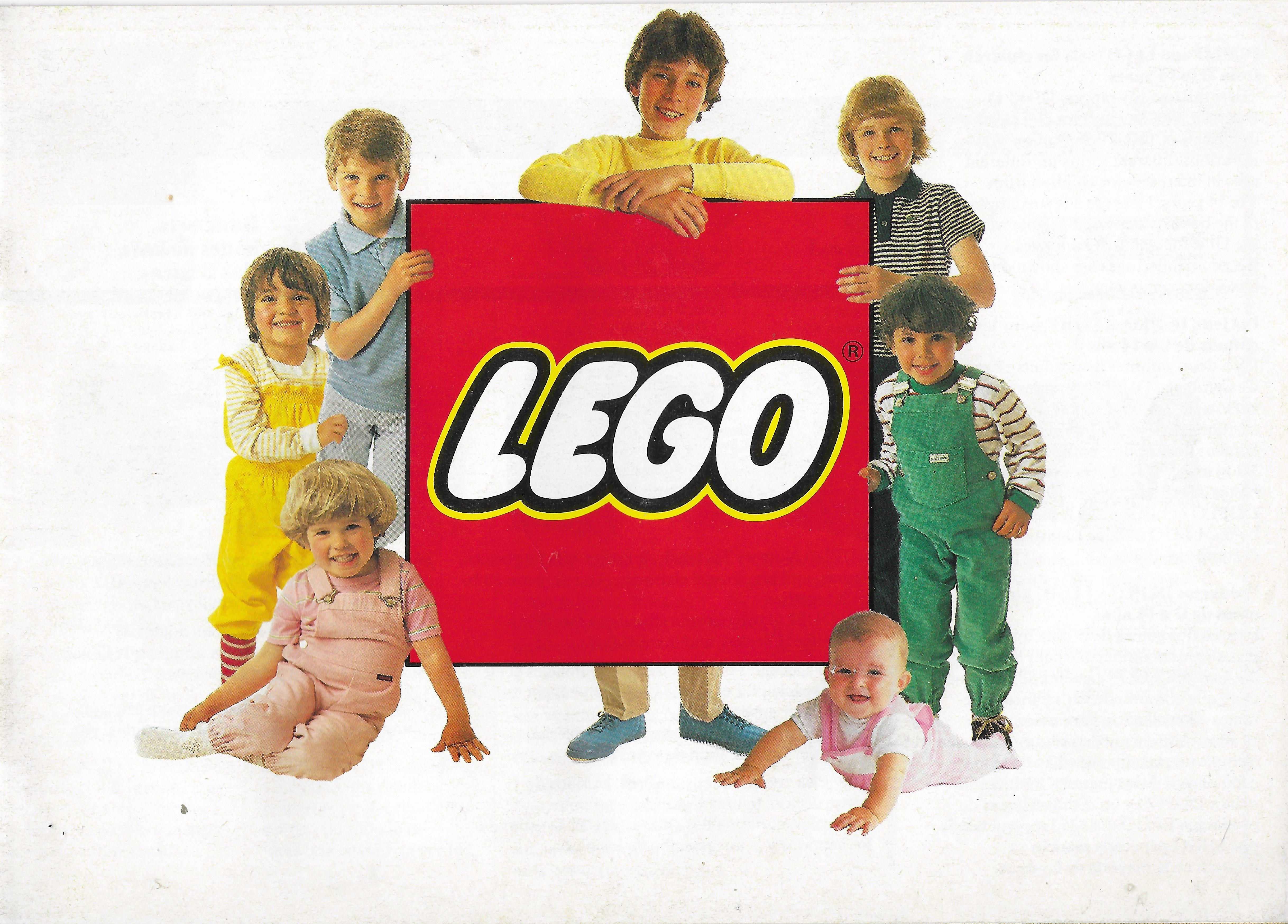 Nyugat-Európai Lego katalógus 1983-ból
