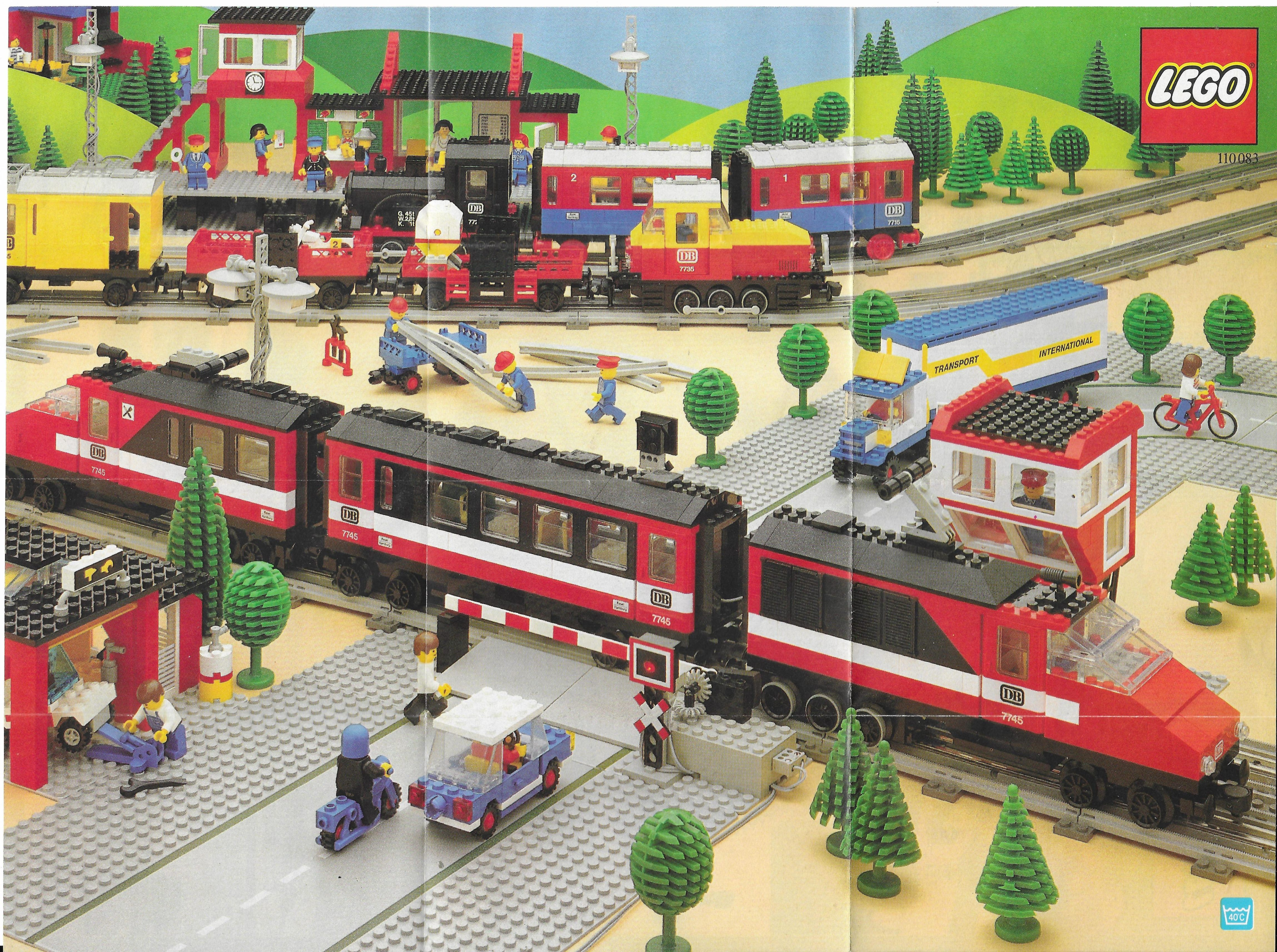 1985-ös Lego Train Insert