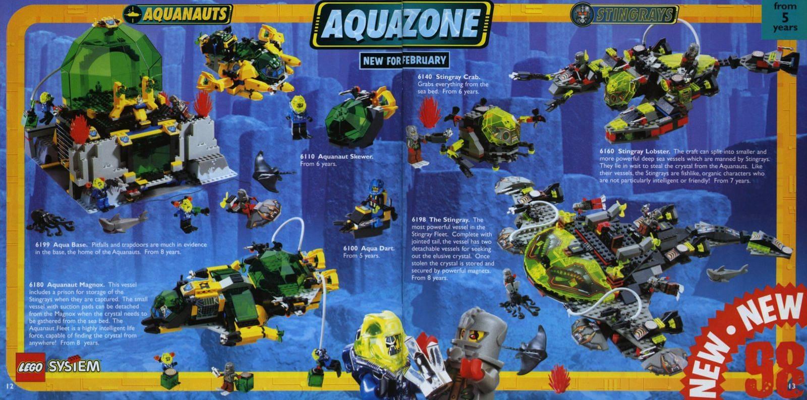 A Lego Aquazone története -2.rész