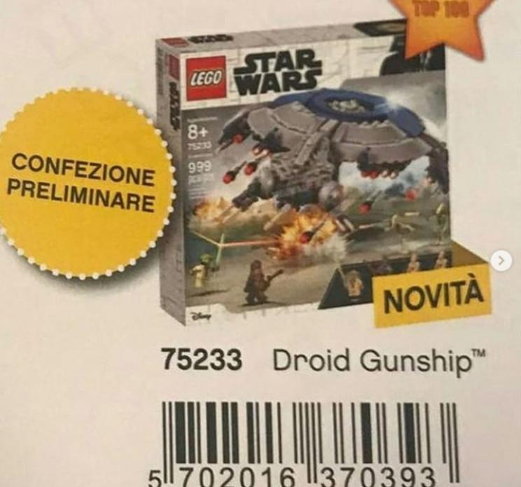 Lego Star Wars 2019 - Az első árulkodó képek