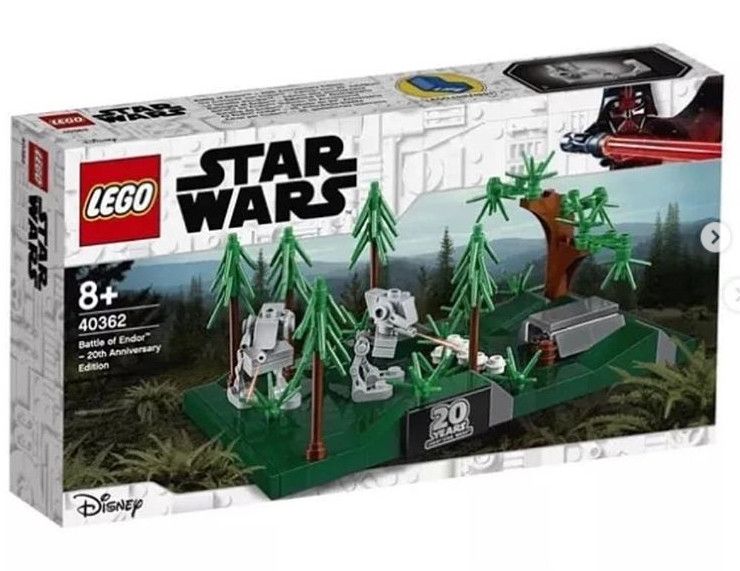Rövidhír: Lego Star Wars 40362 Battle of Endor - 20th Anniversary Edition