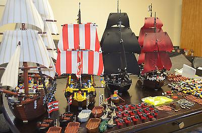 A legnagyobb Lego hajók