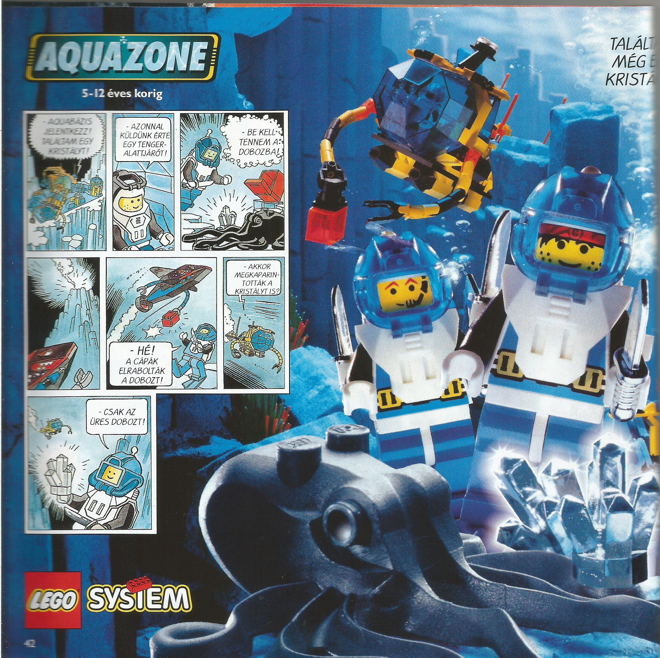 A Lego Aquazone története - 1.rész