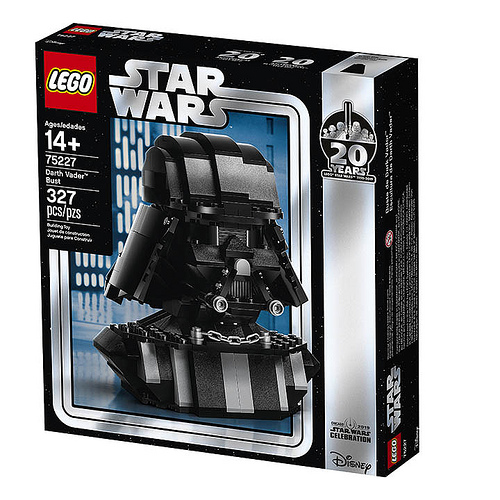 Star Wars Celebration exkluzív Lego Darth Vader bust