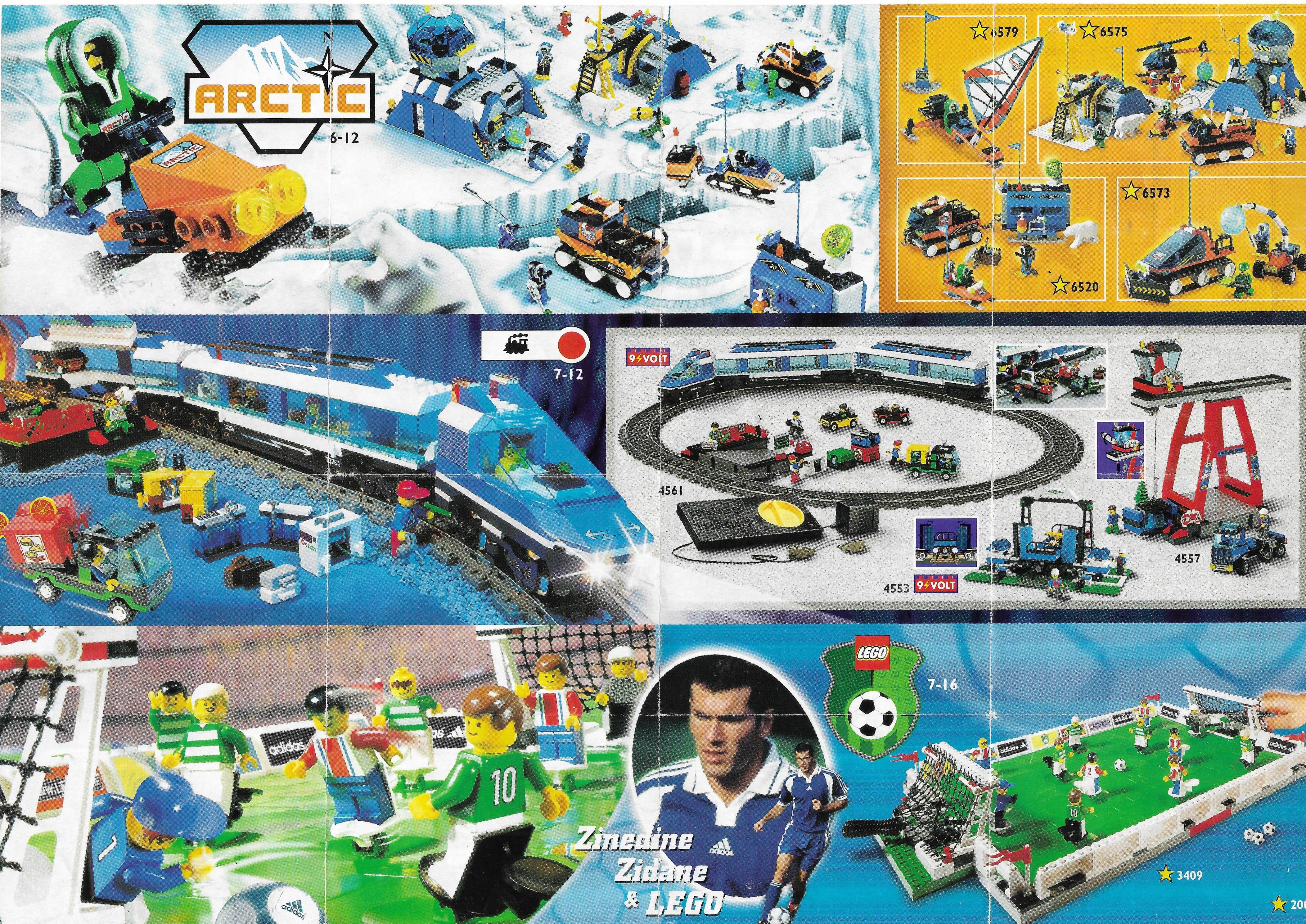 1999-es Általános Lego insert