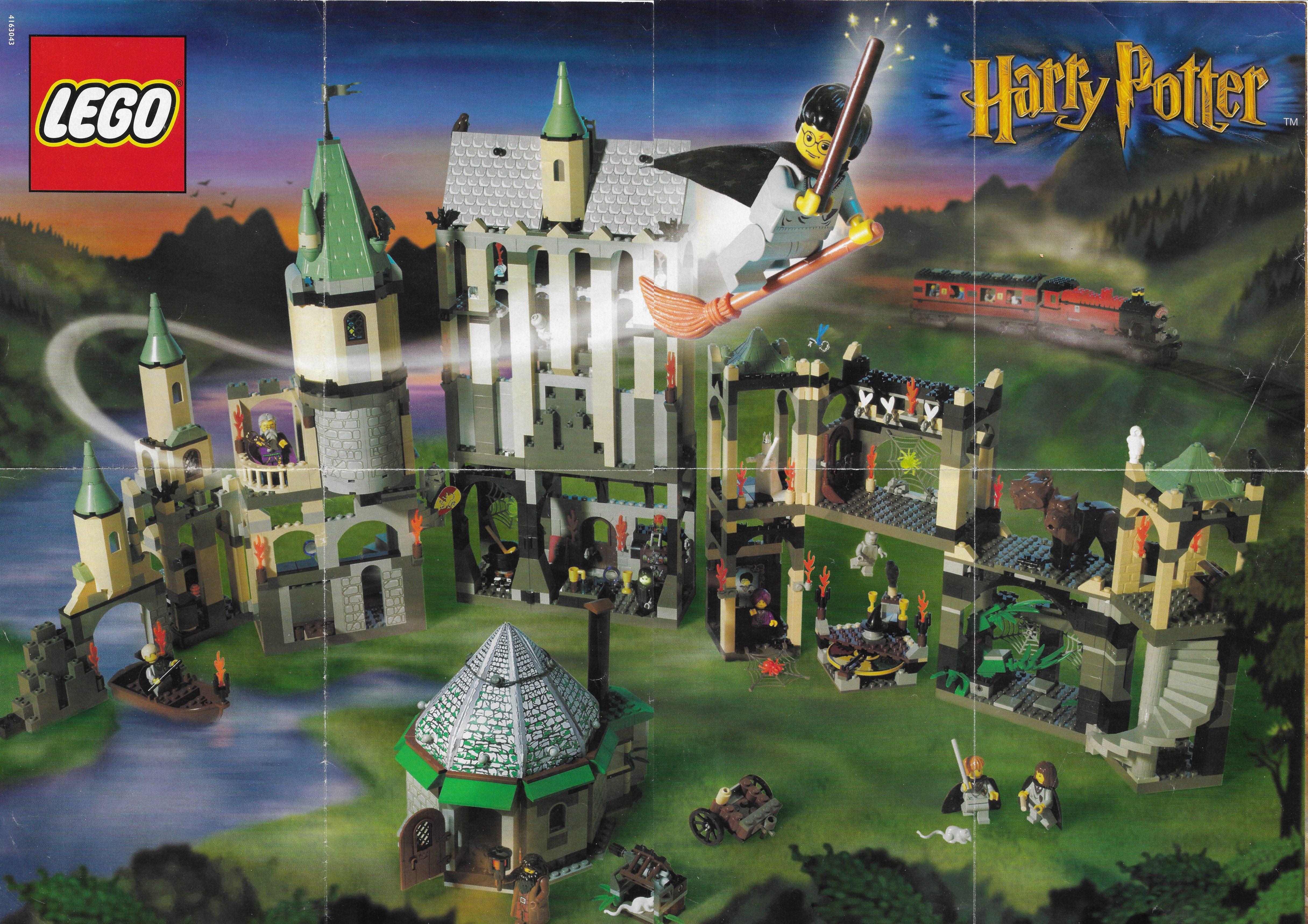 2001-es Lego Harry Potter poszter