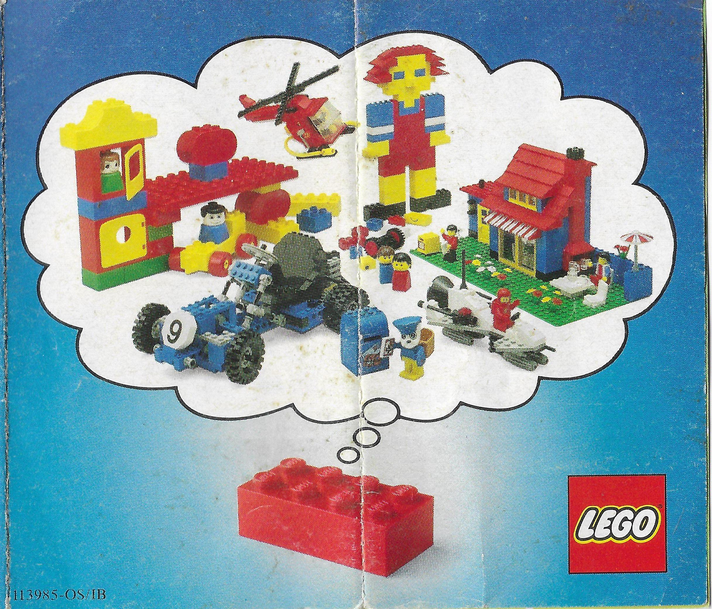 Egy 1982-es Lego insert