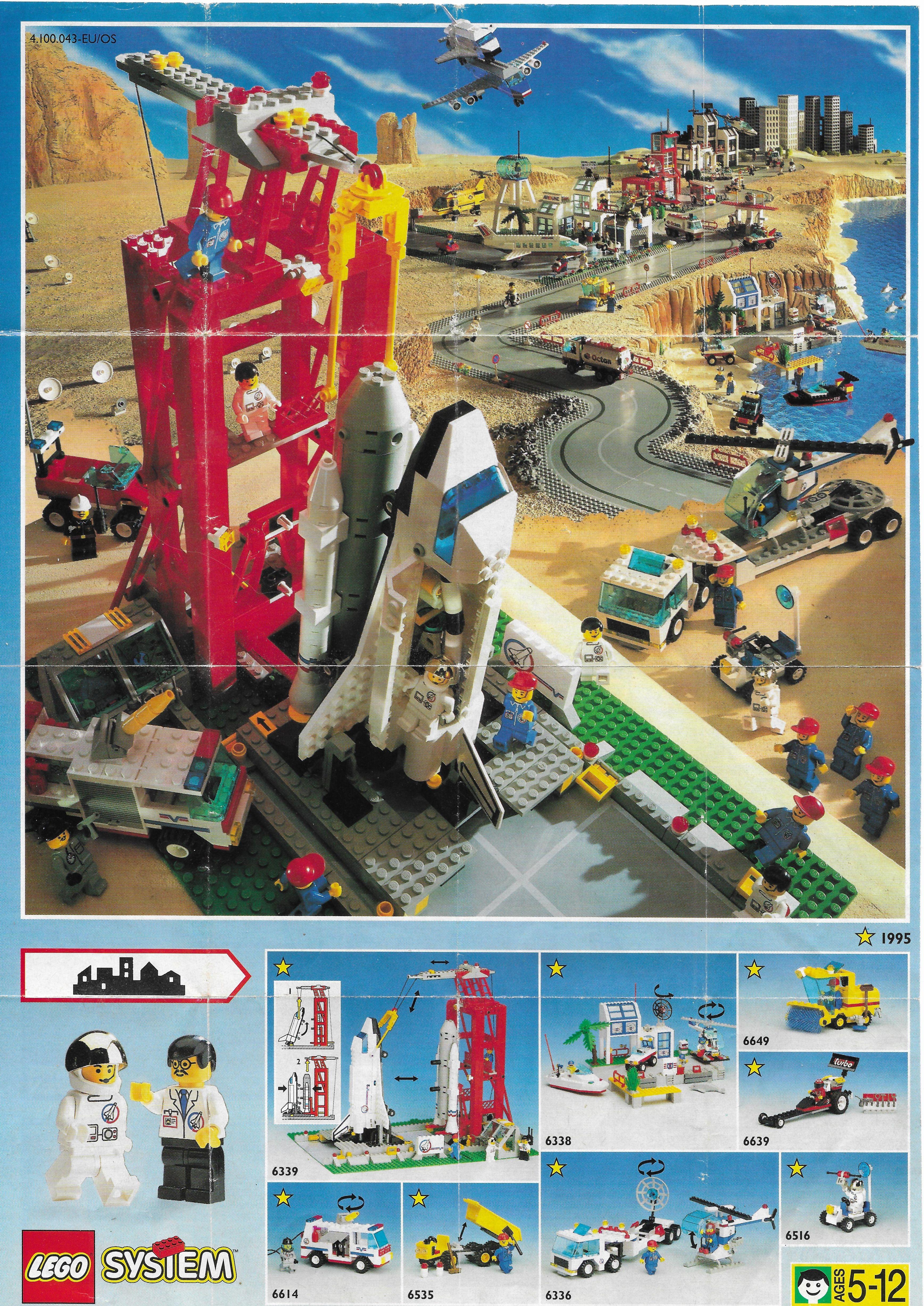 1995-ös  Lego Town insert