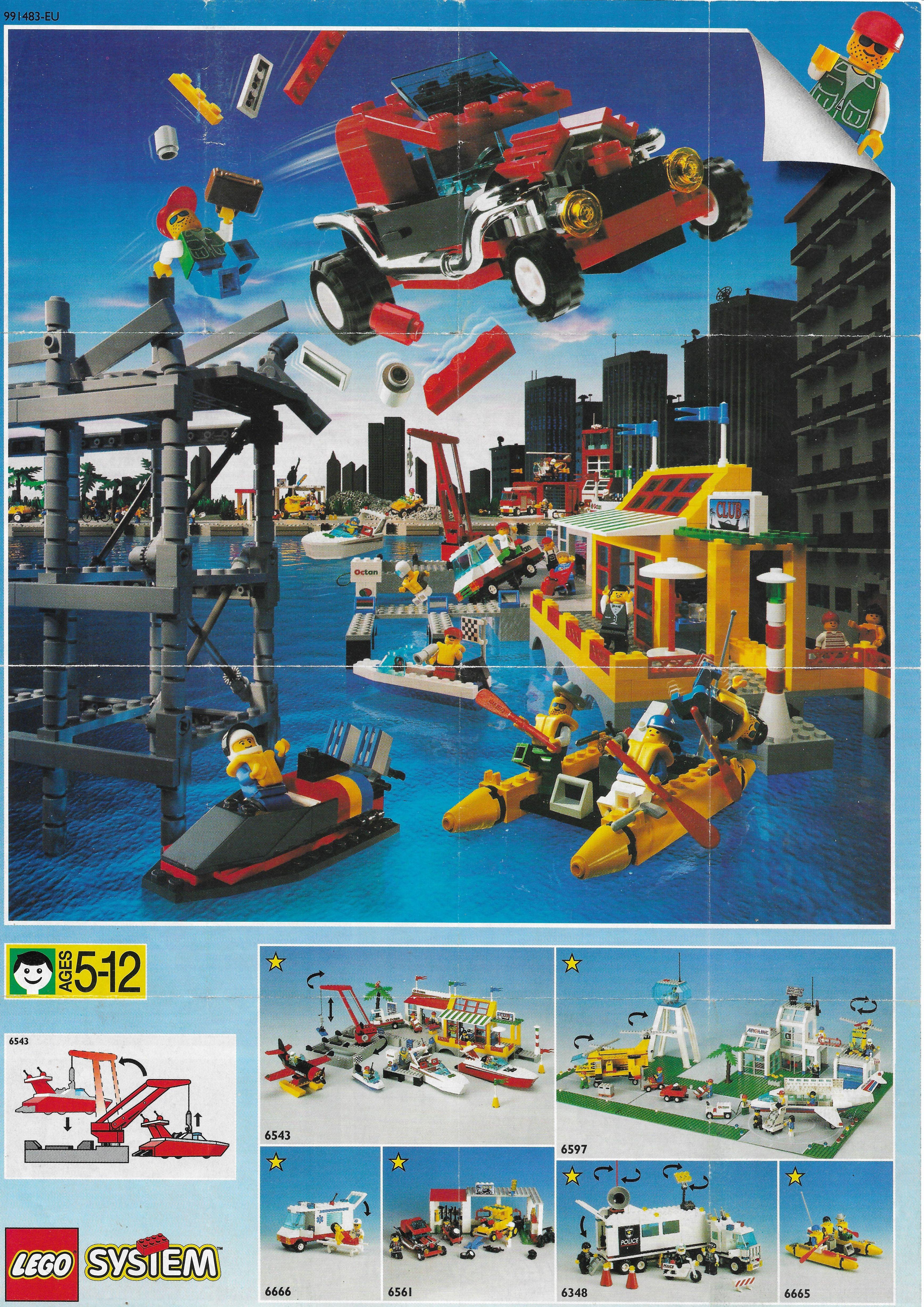 1994-es Lego Town insert