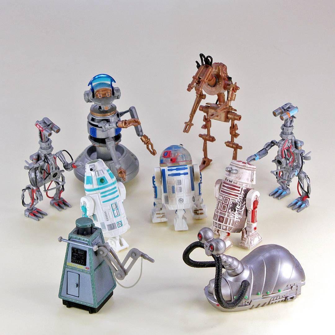 A Disney Park exkluzív Star Tours Star Wars figurák története
