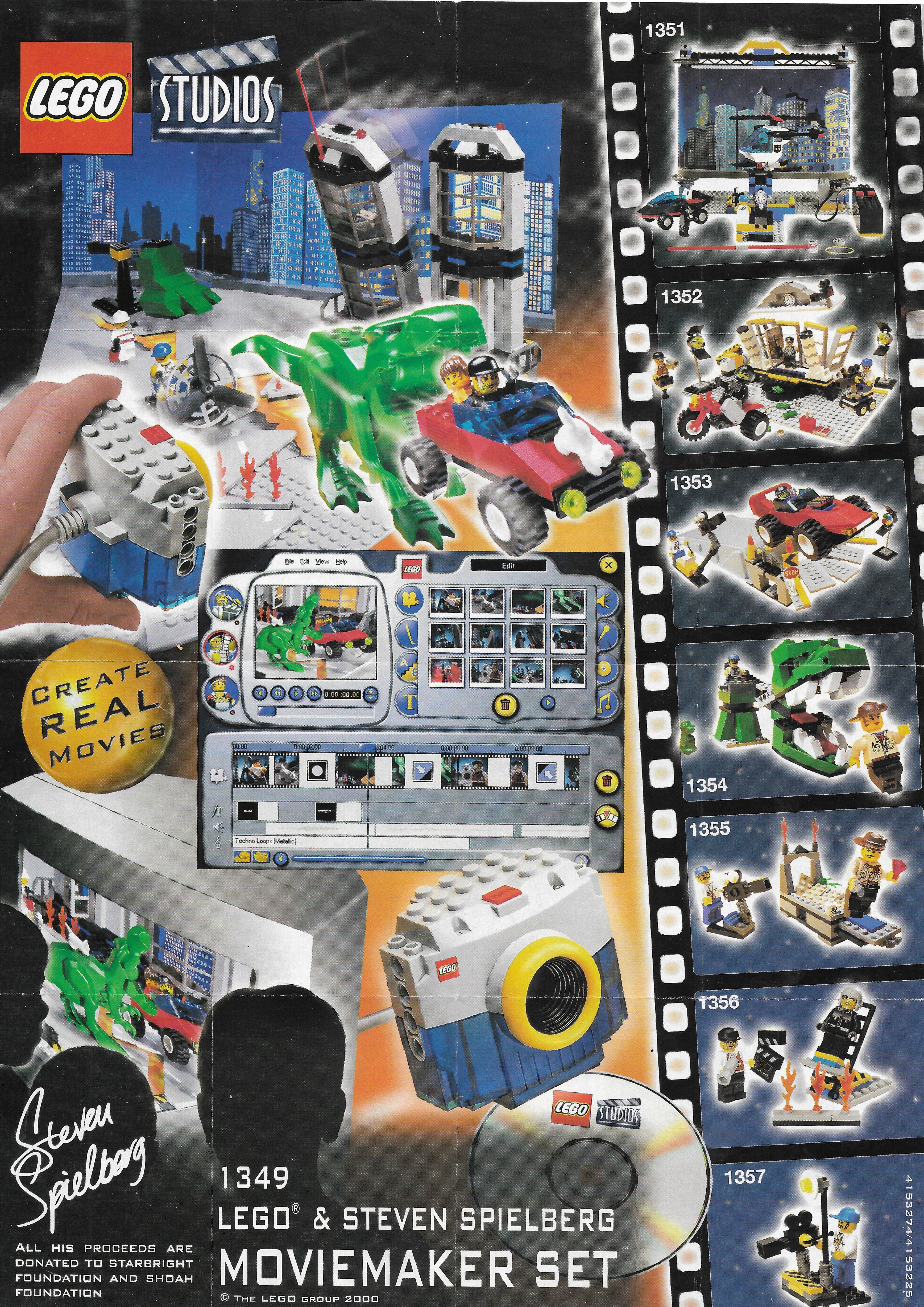 Lego Studios insert 2000-ből