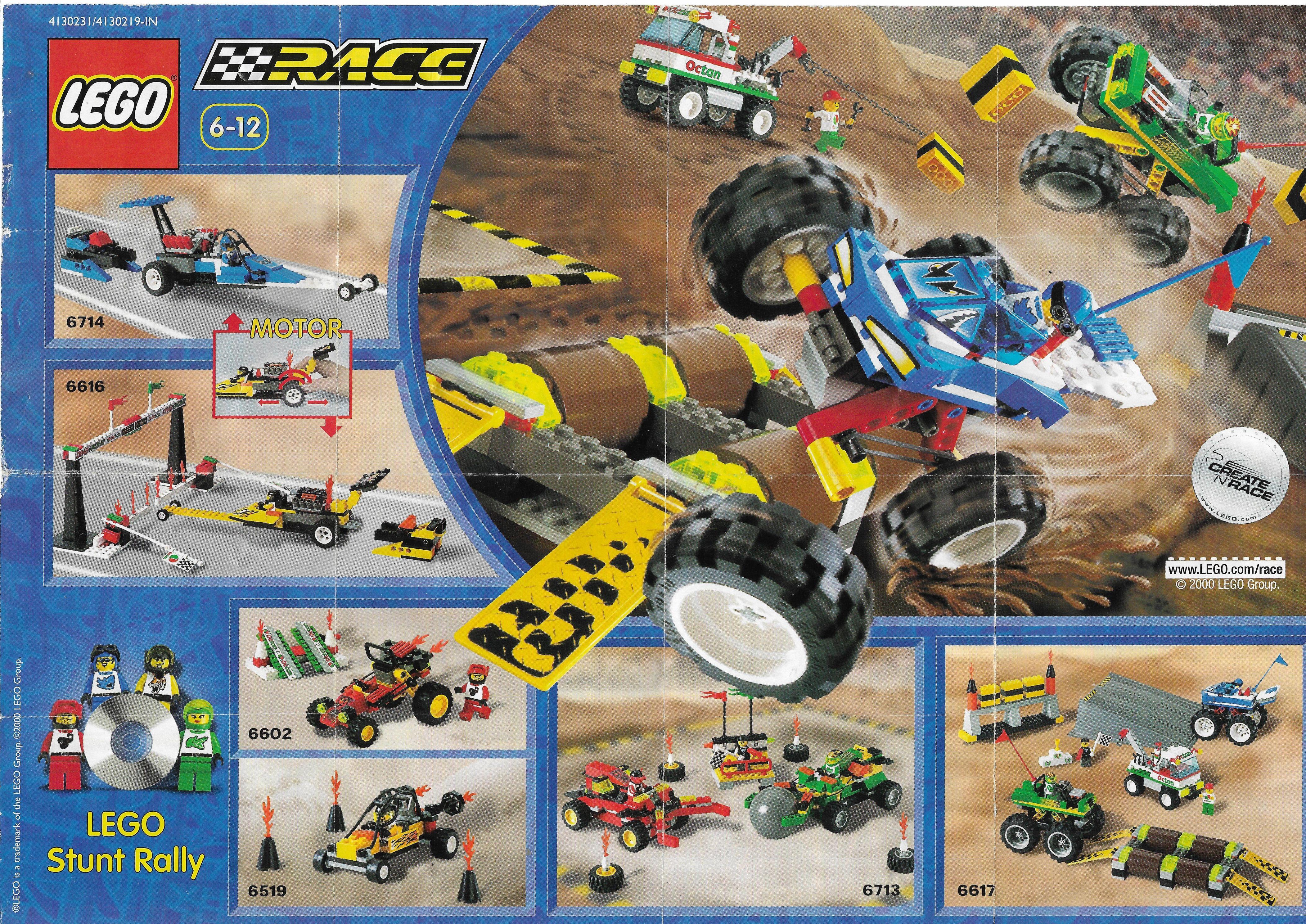 Lego Race insert 2000-ből
