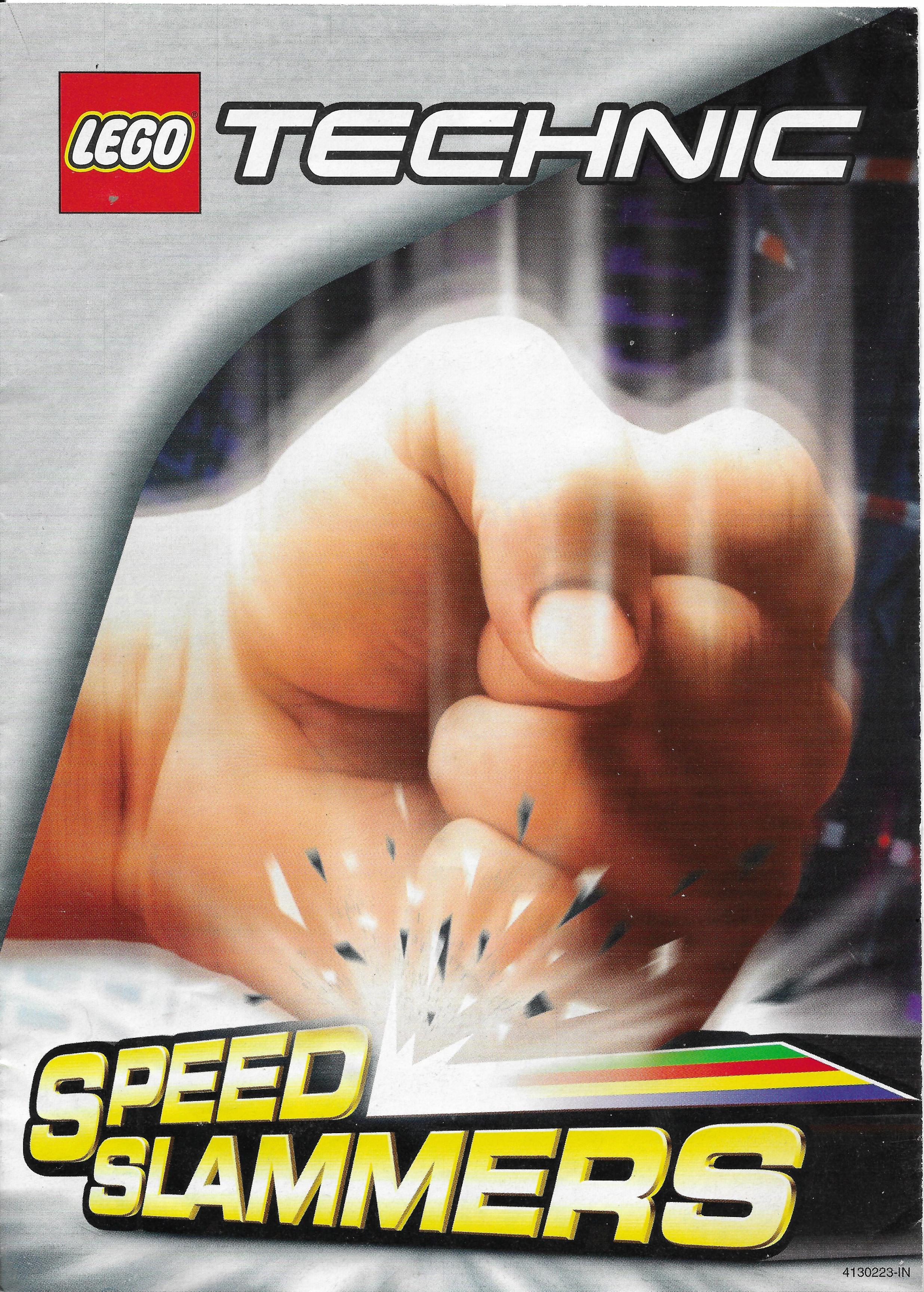 Lego Technic Speed Slammers katalógus 2000-ből