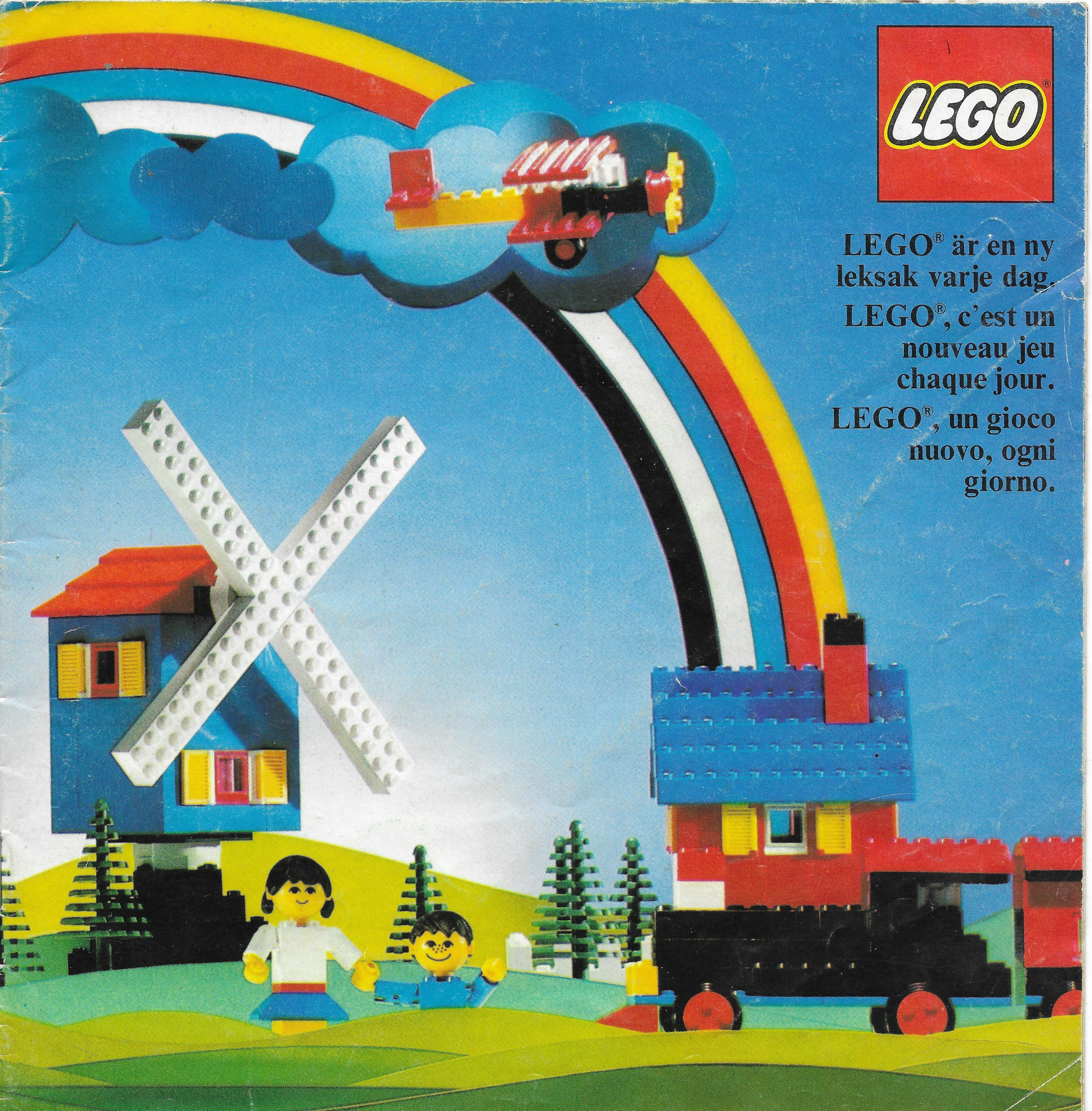 1975-ös Nyugat-Európai Lego katalógus
