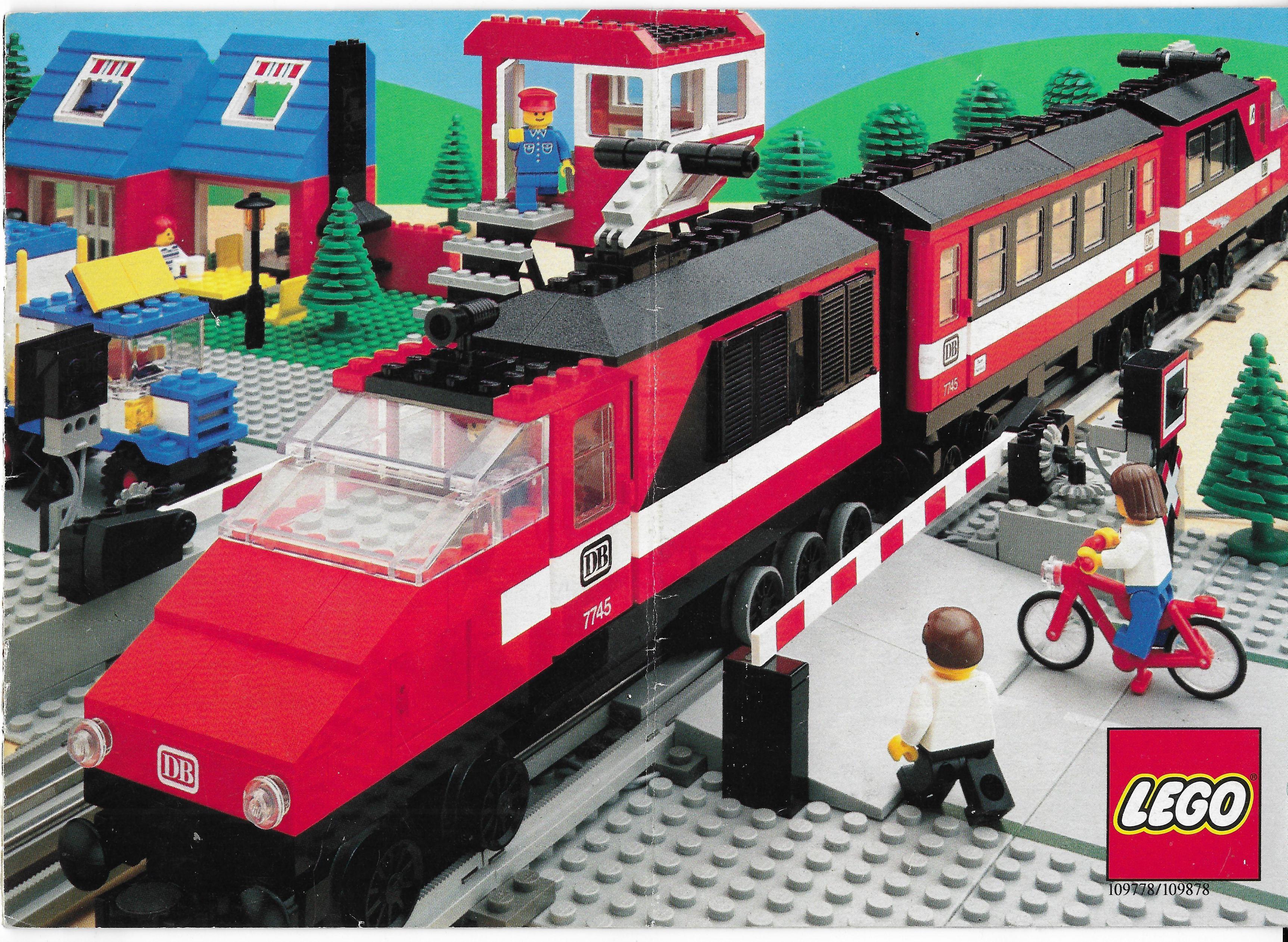 Lego Train katalógus 1985-ből