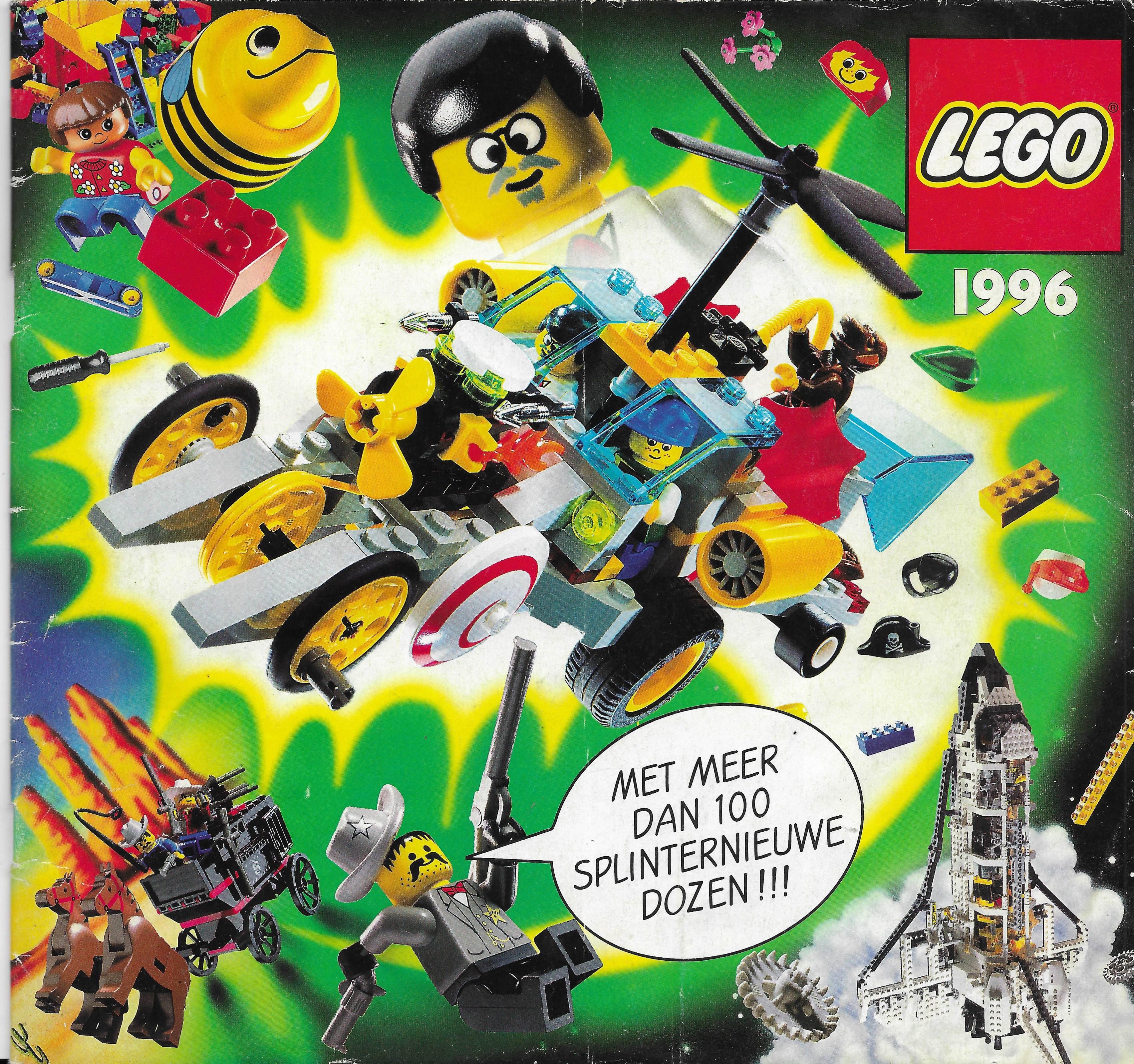 1996-os holland Lego katalógus