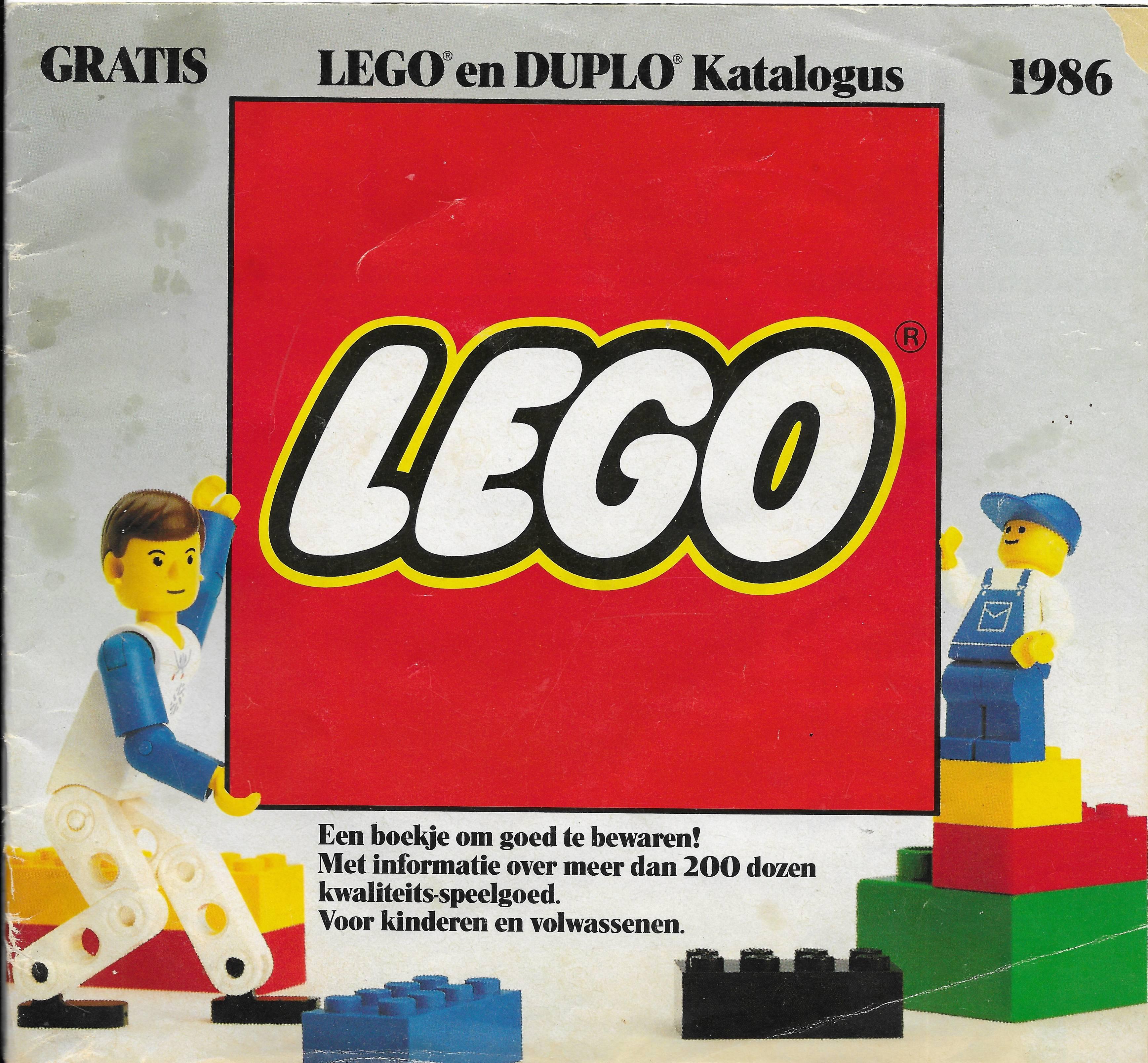 1986-os holland Lego katalógus