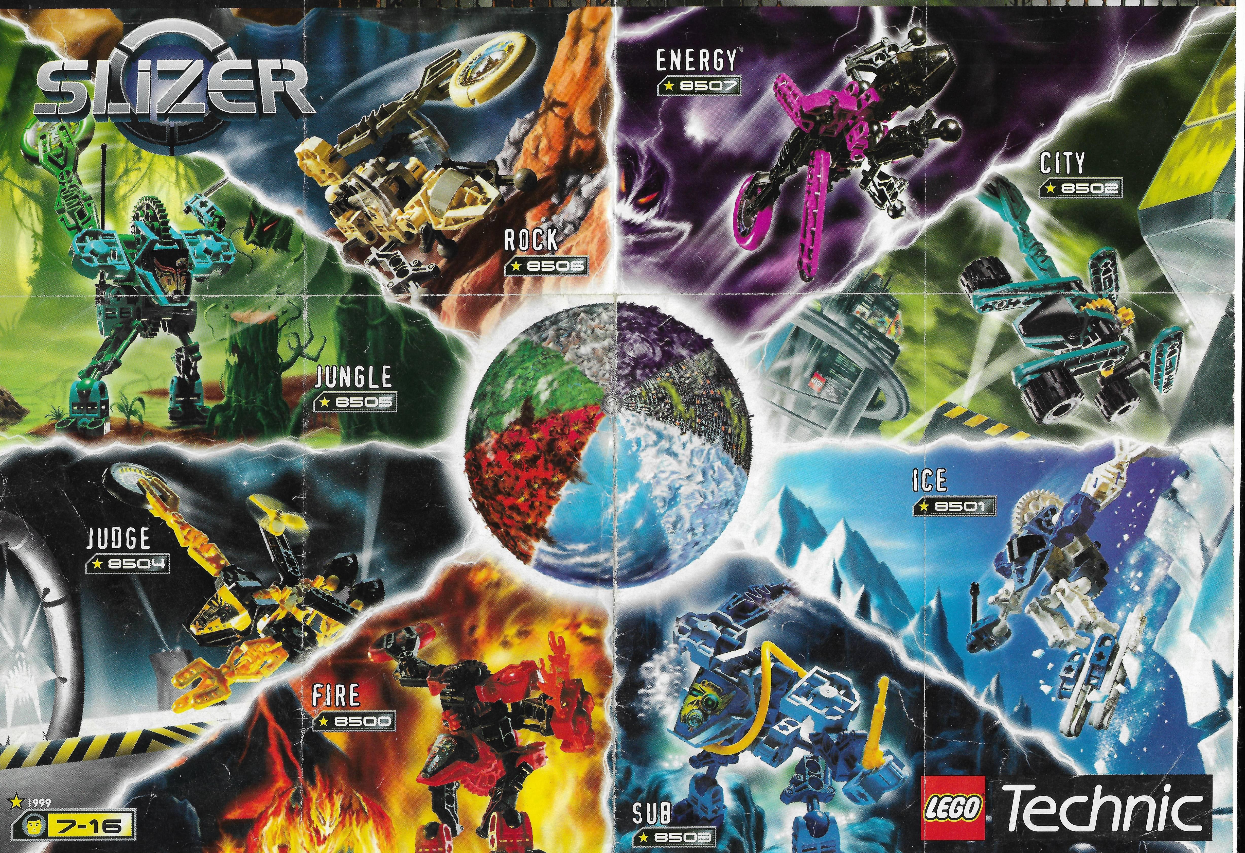 Lego Slizer poszter 1999-ből