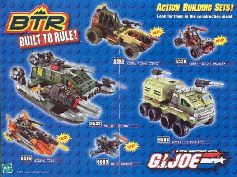 """A Hasbro (egyik) """"Lego-ja"""" - A Built to Rule játékok története 1.rész"""
