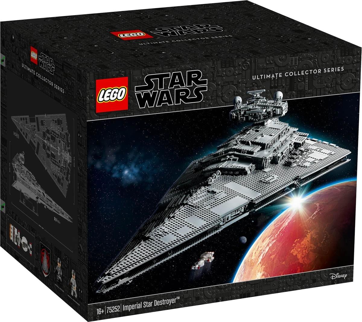 Hivatalos képek az új UCS Lego Star Destroyer készletről