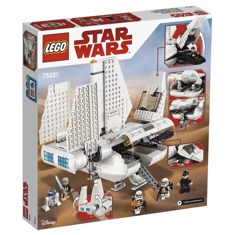 Lego Star Wars 75221 Imperial Landing Craft hivatalos képek