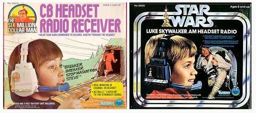 Újrahasznosítások a vintage Star Wars játékoknál