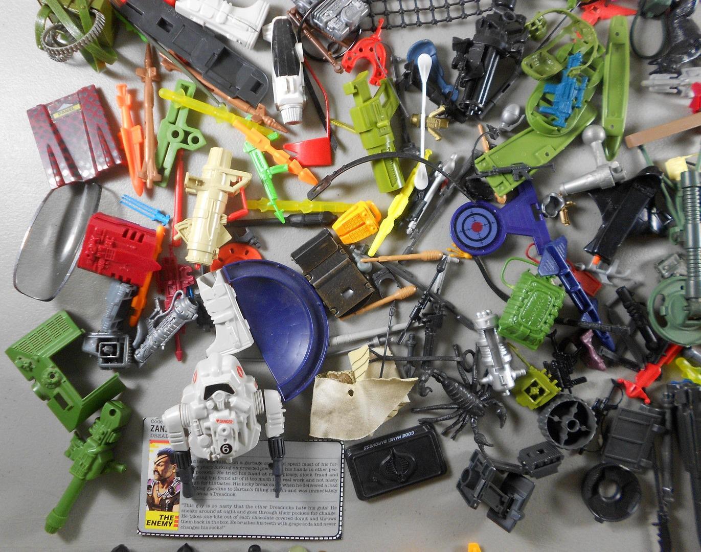 Tíz G.I.Joe felszerelés....amit nem kedvelek