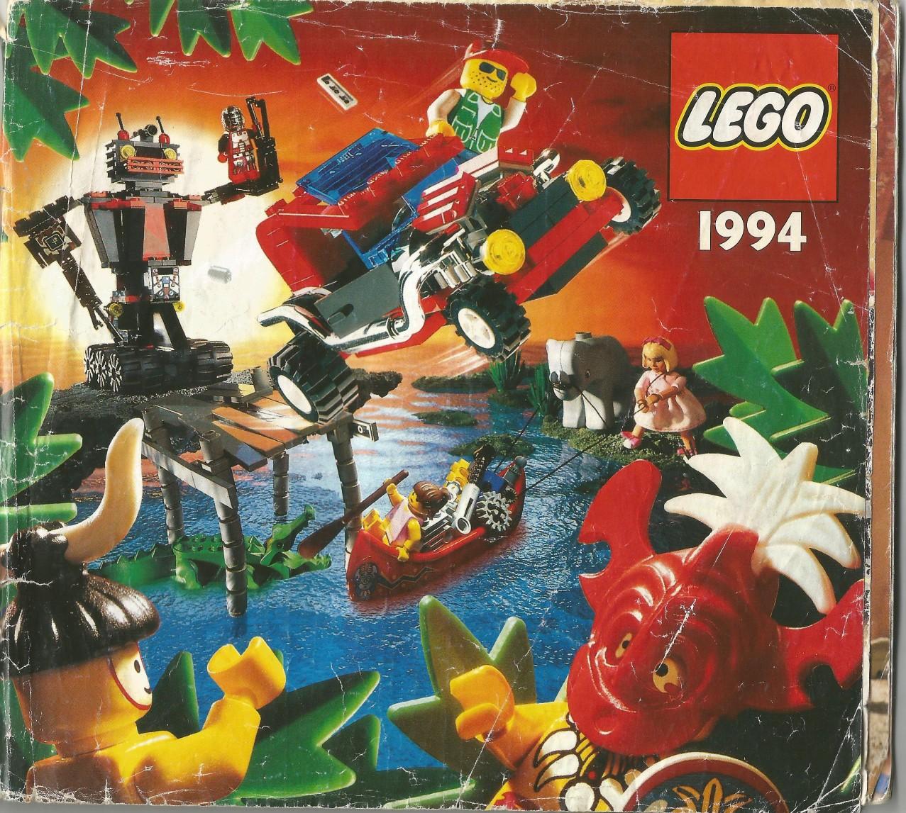 Egy jó kis magyar Lego katalógus 1994-ből