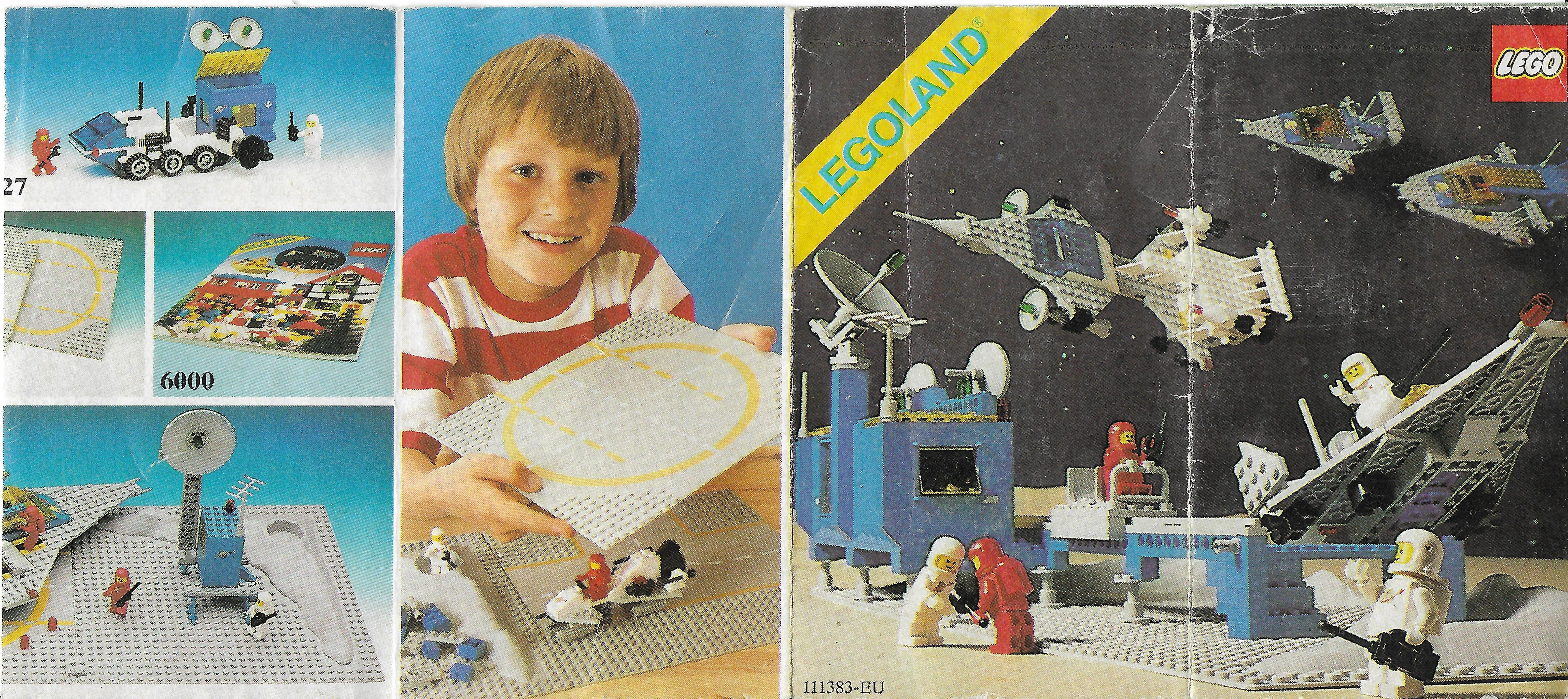 81-es kihajtogatható Lego Space insert