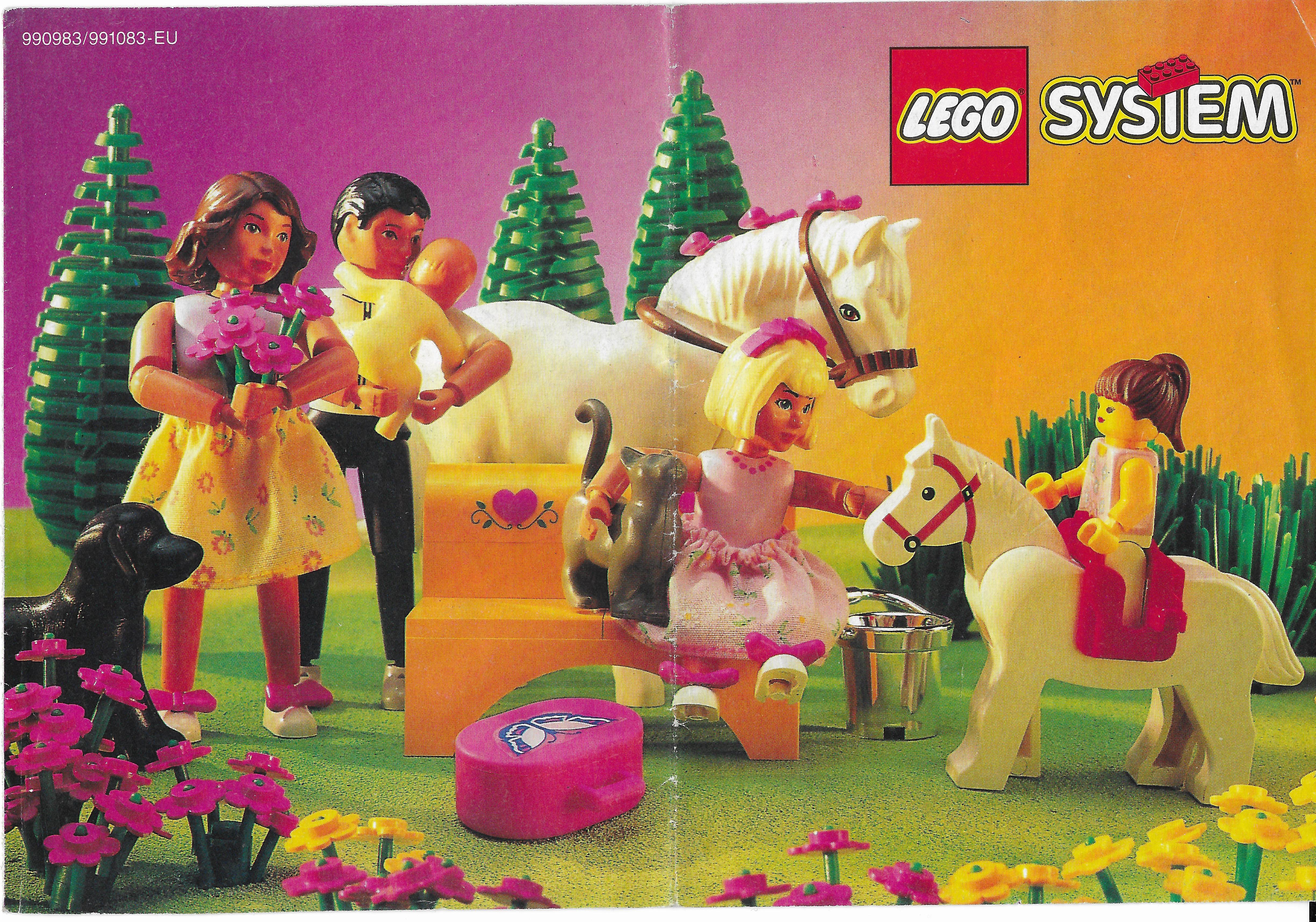 Lányos Lego katalógus 1994-ből