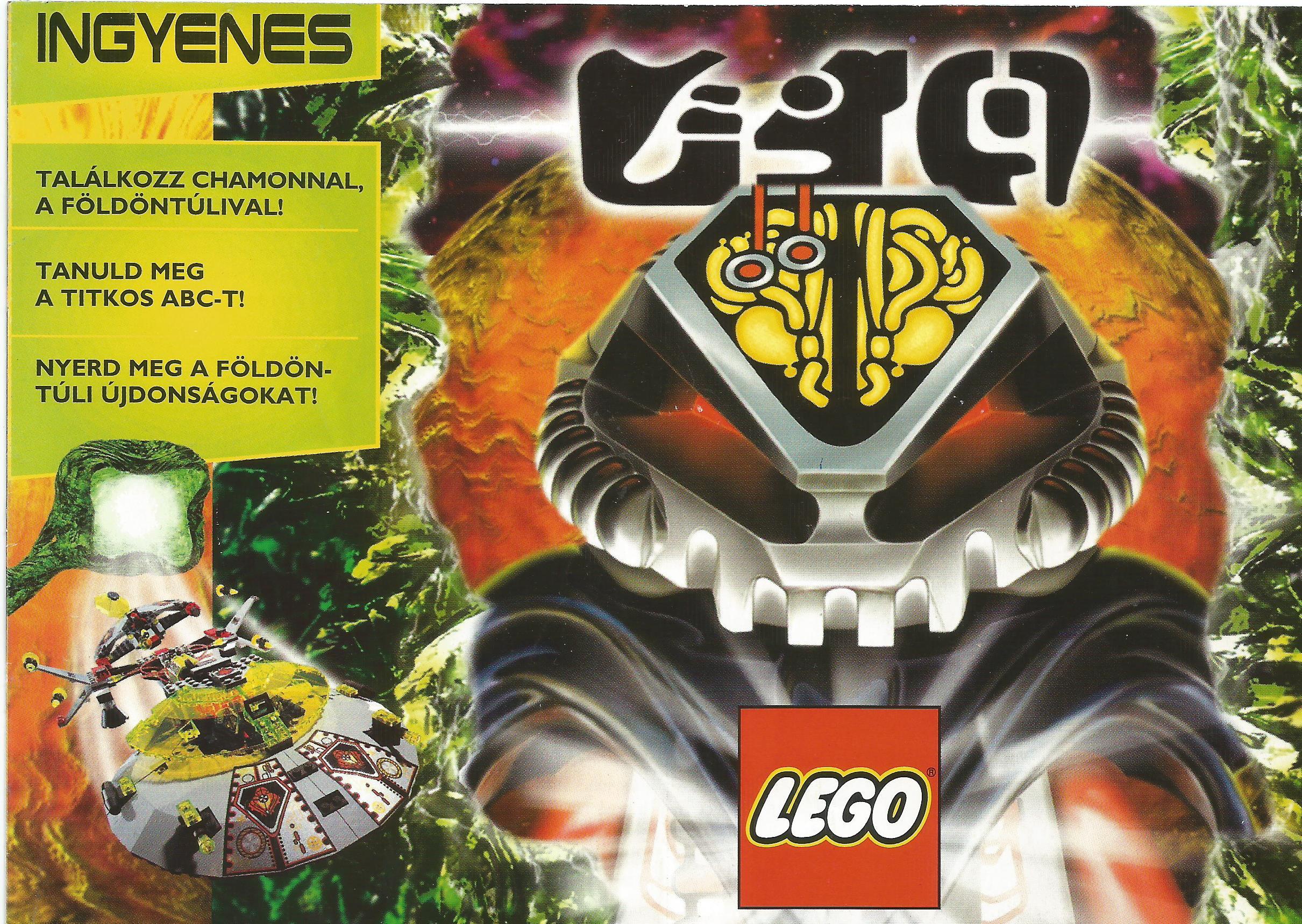 Lego Ufo reklámanyag 1997-ből