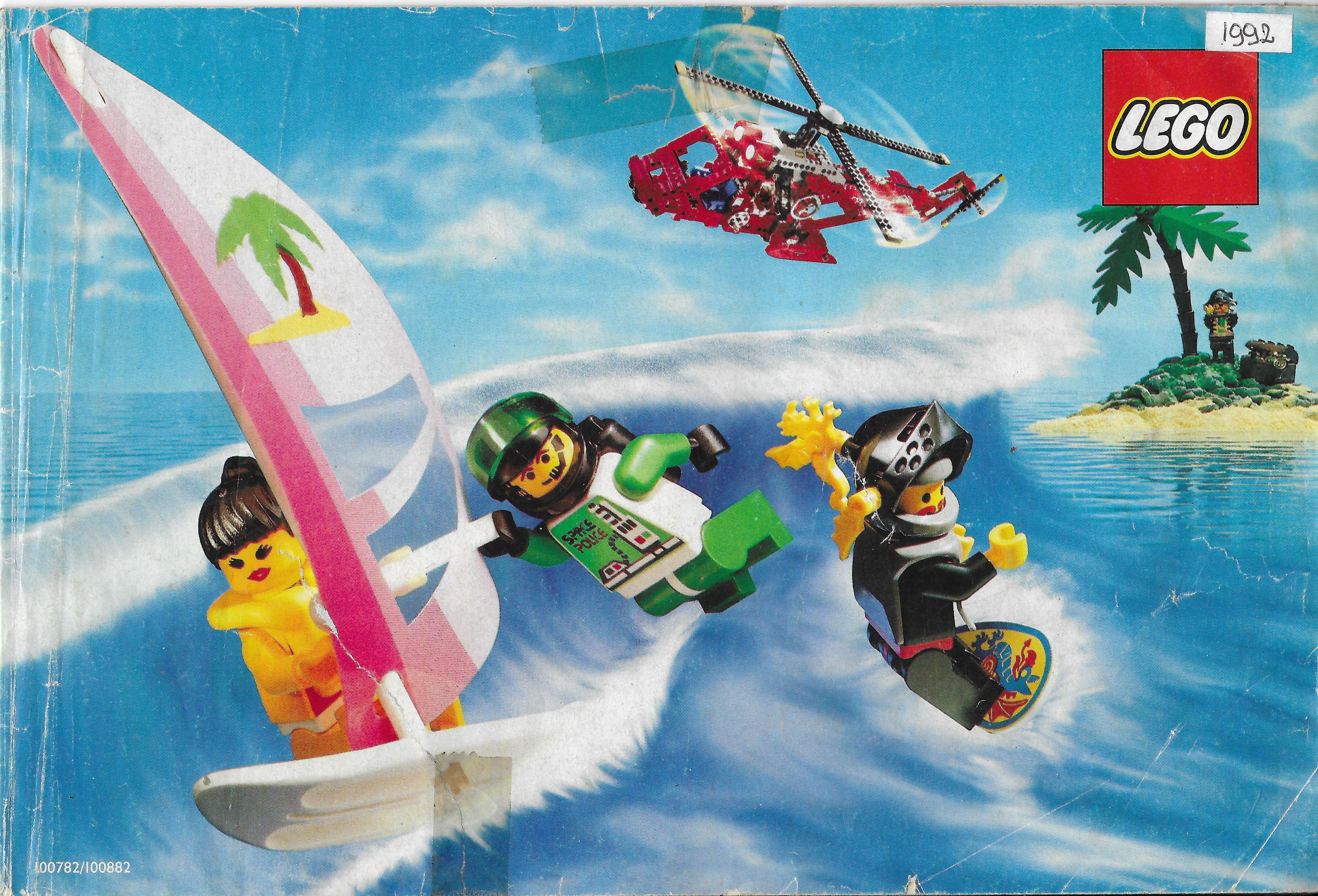 Európai Lego katalógus 1992-ből