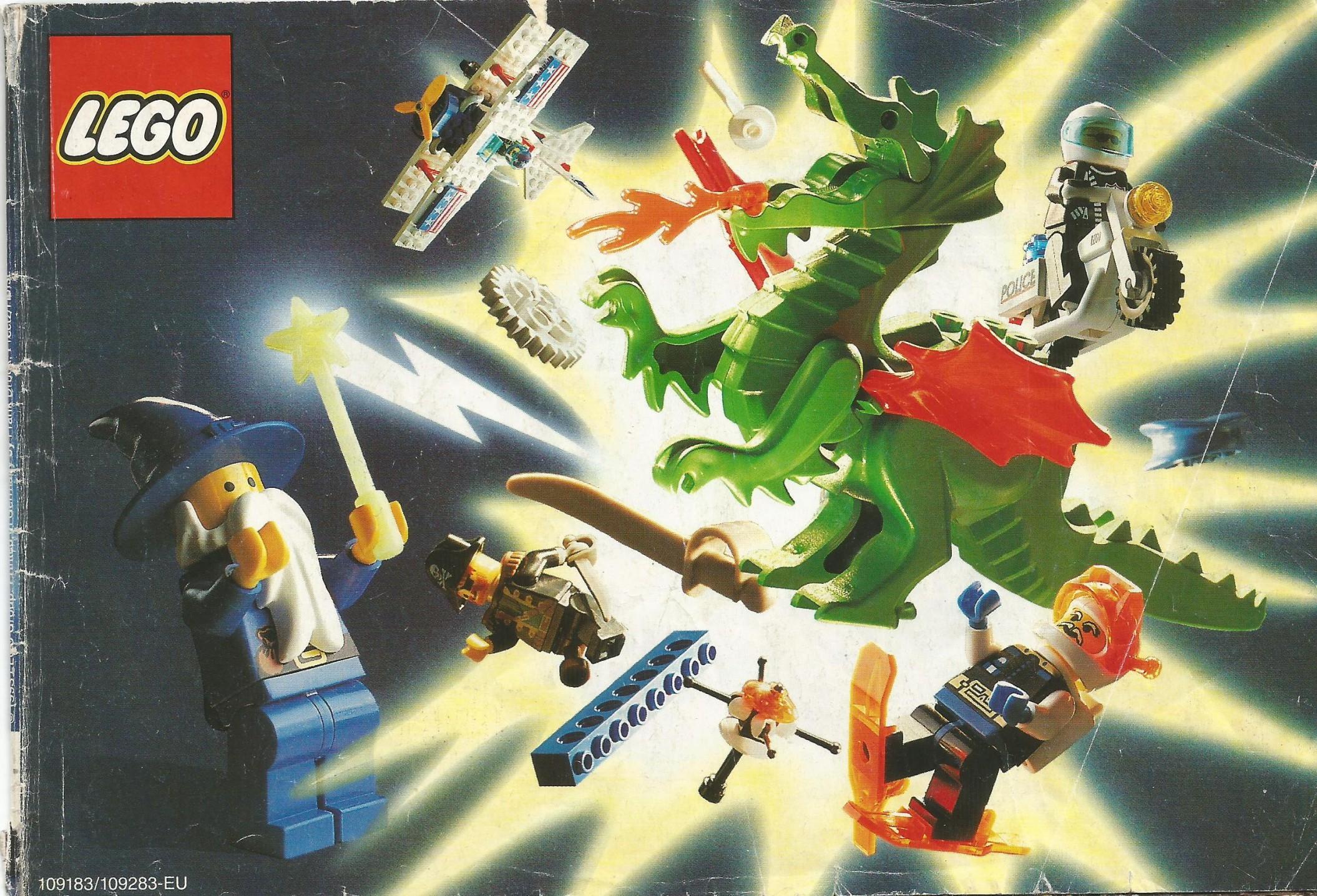Kis méretű Lego katalógus 93-ból