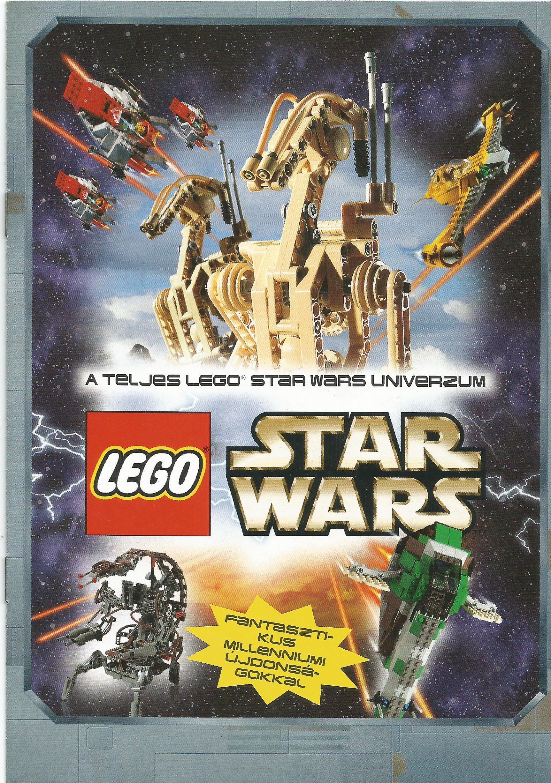 Lego Star Wars katalógus 2000-ből
