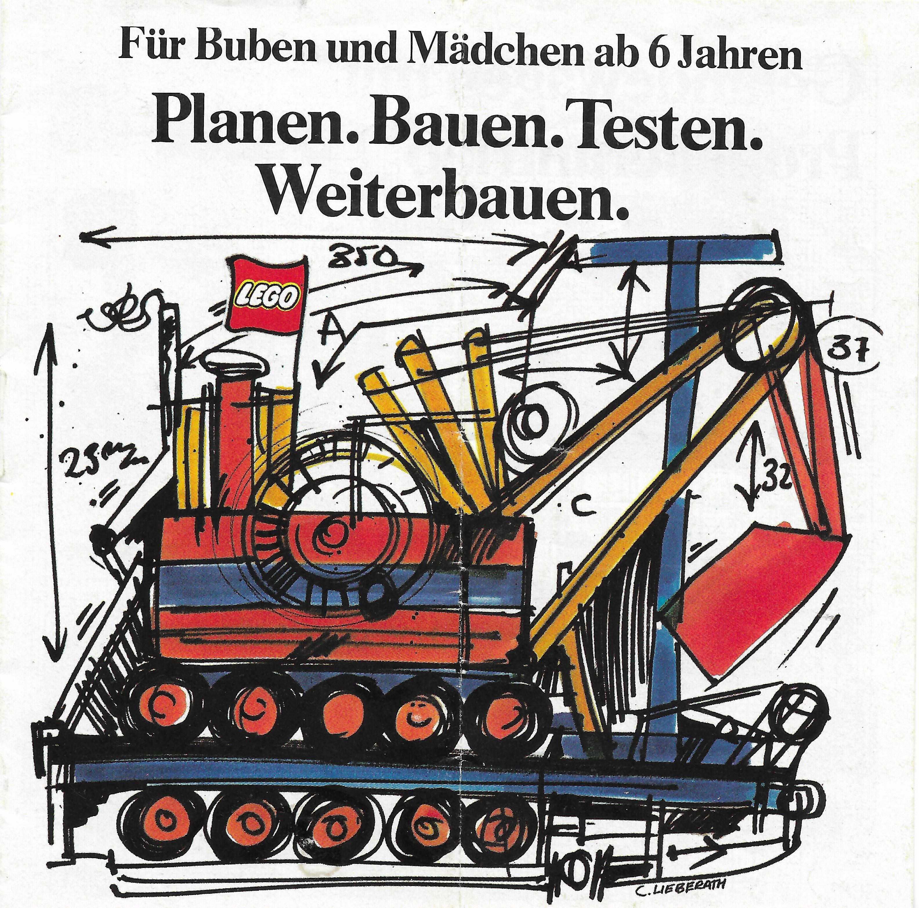 1974-es német Lego katalógus