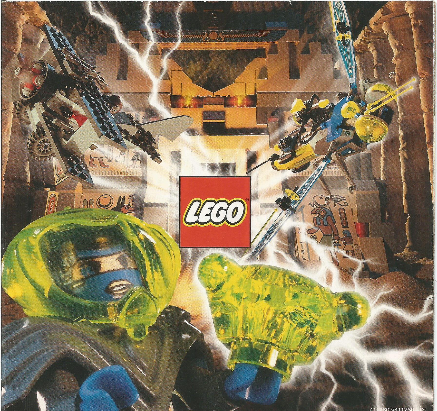 Kis méretű Lego katalógus 1998-ból