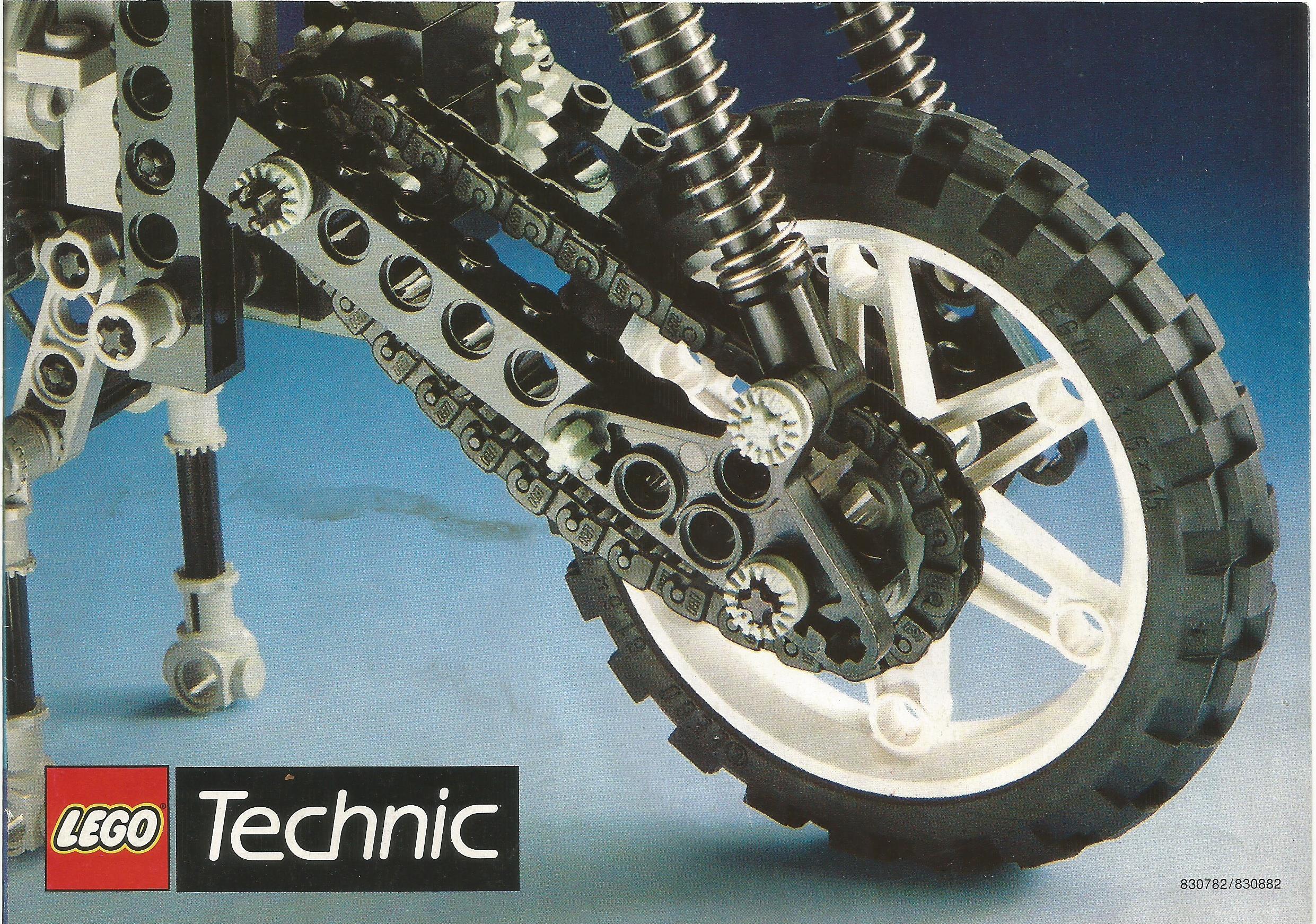 Lego Technic- Model Team katalógus 1991-ből
