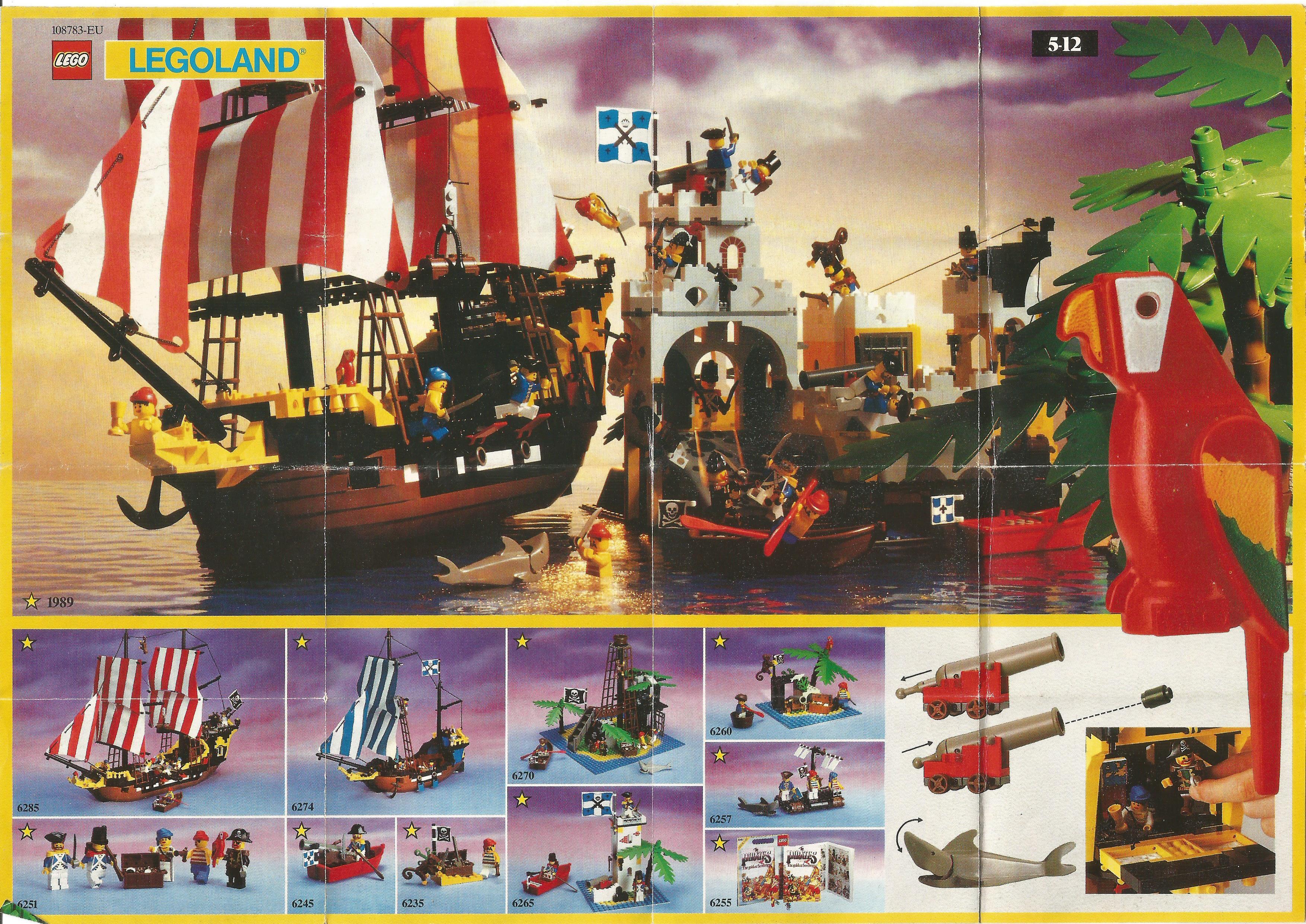 Egylapos Lego Insert 1989-ből