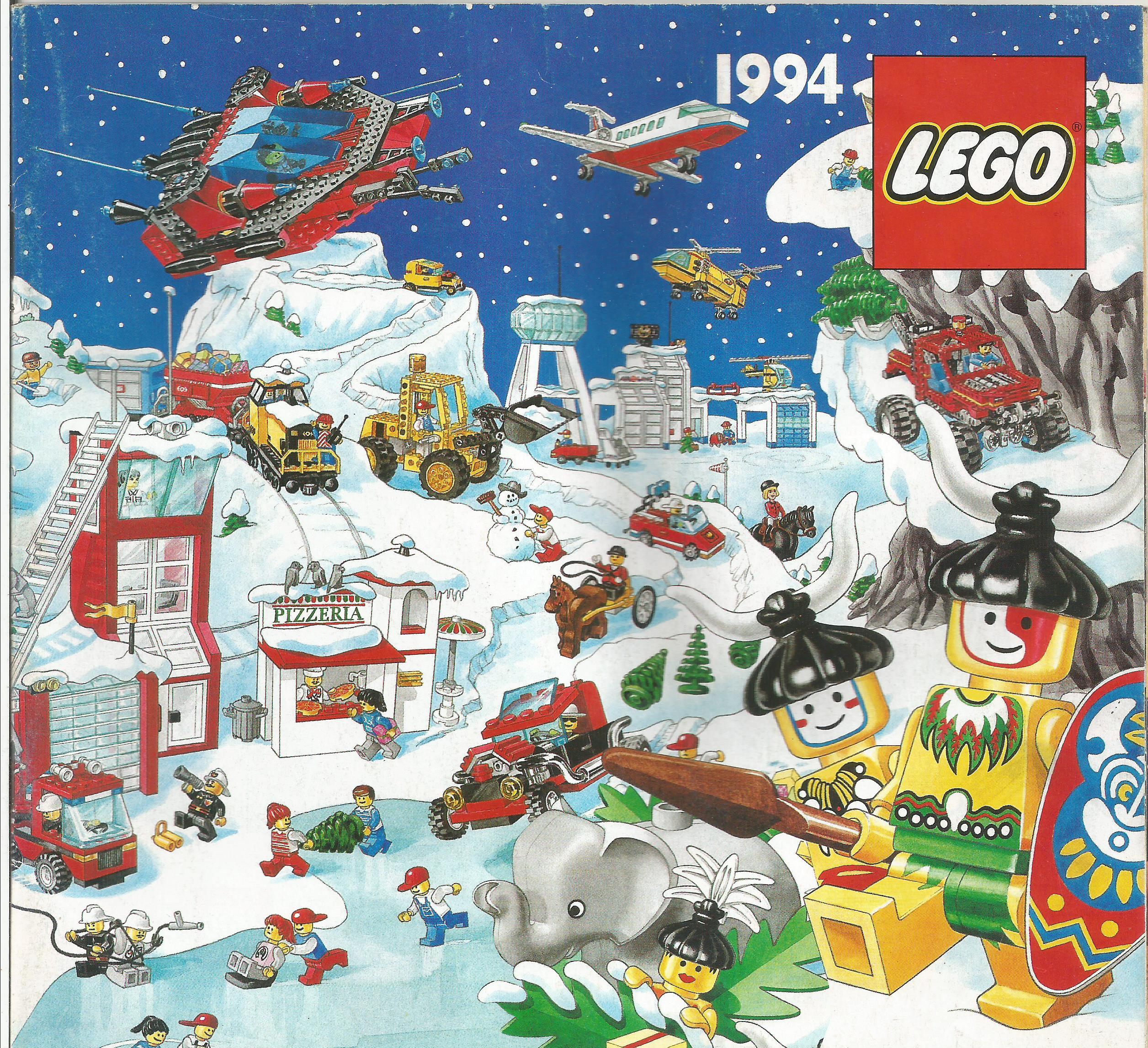 Magyar Lego katalógus 94'