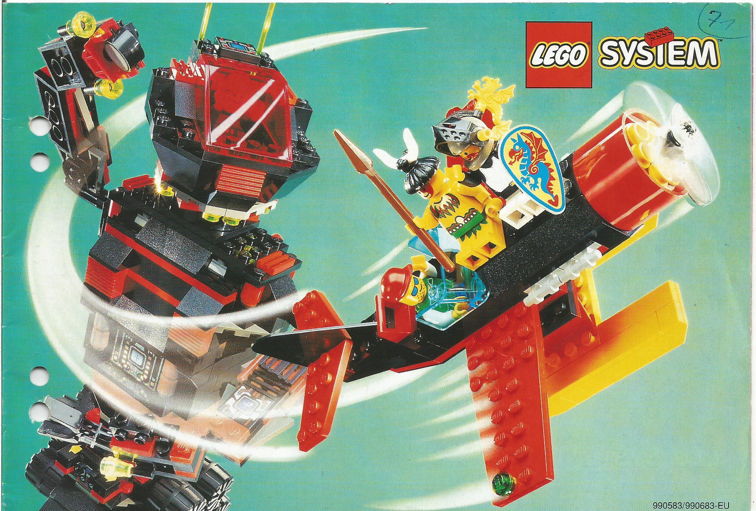 Kisméretű német Lego katalógus 94-ből