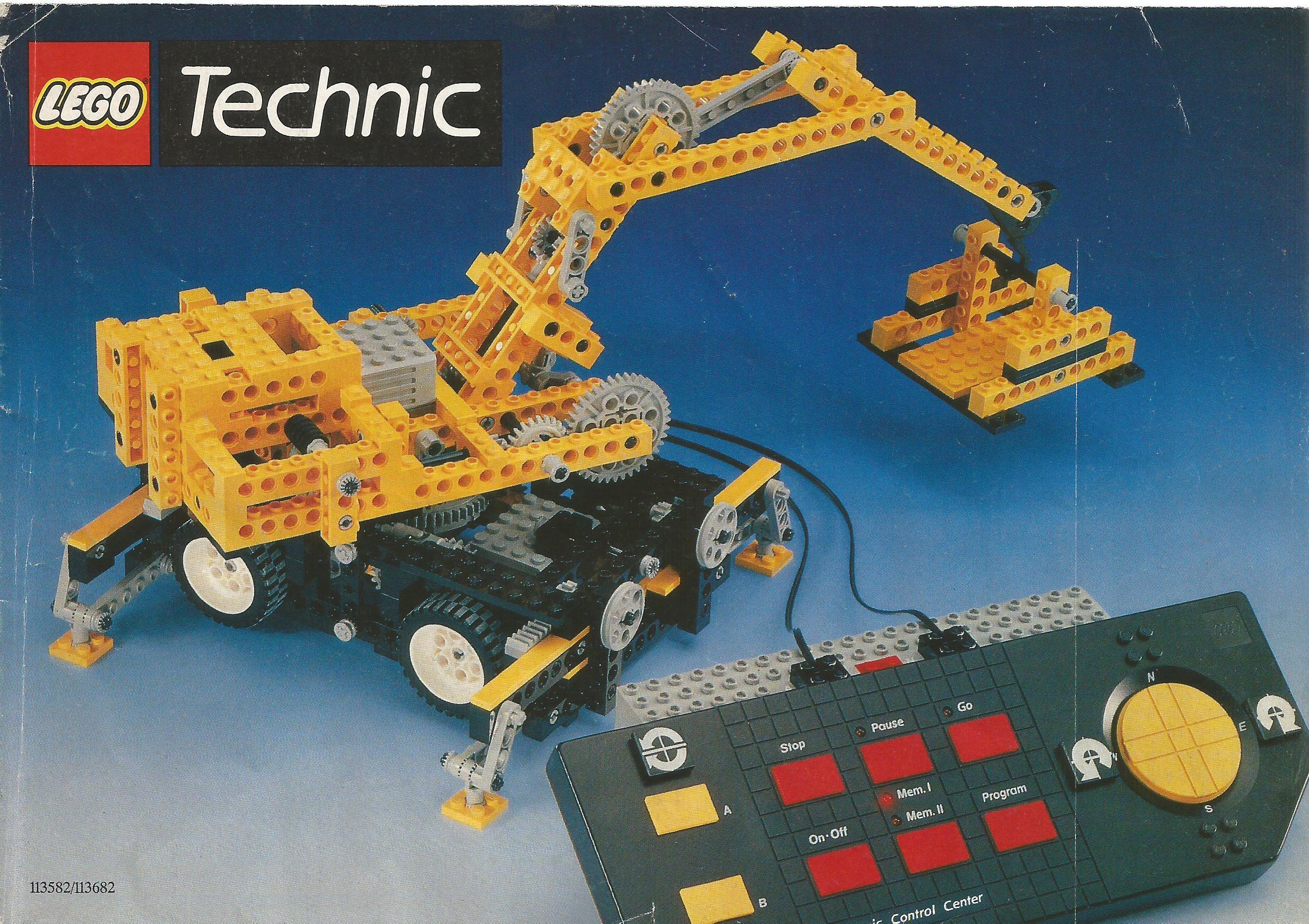 1990-es európai Lego Technic katalógus