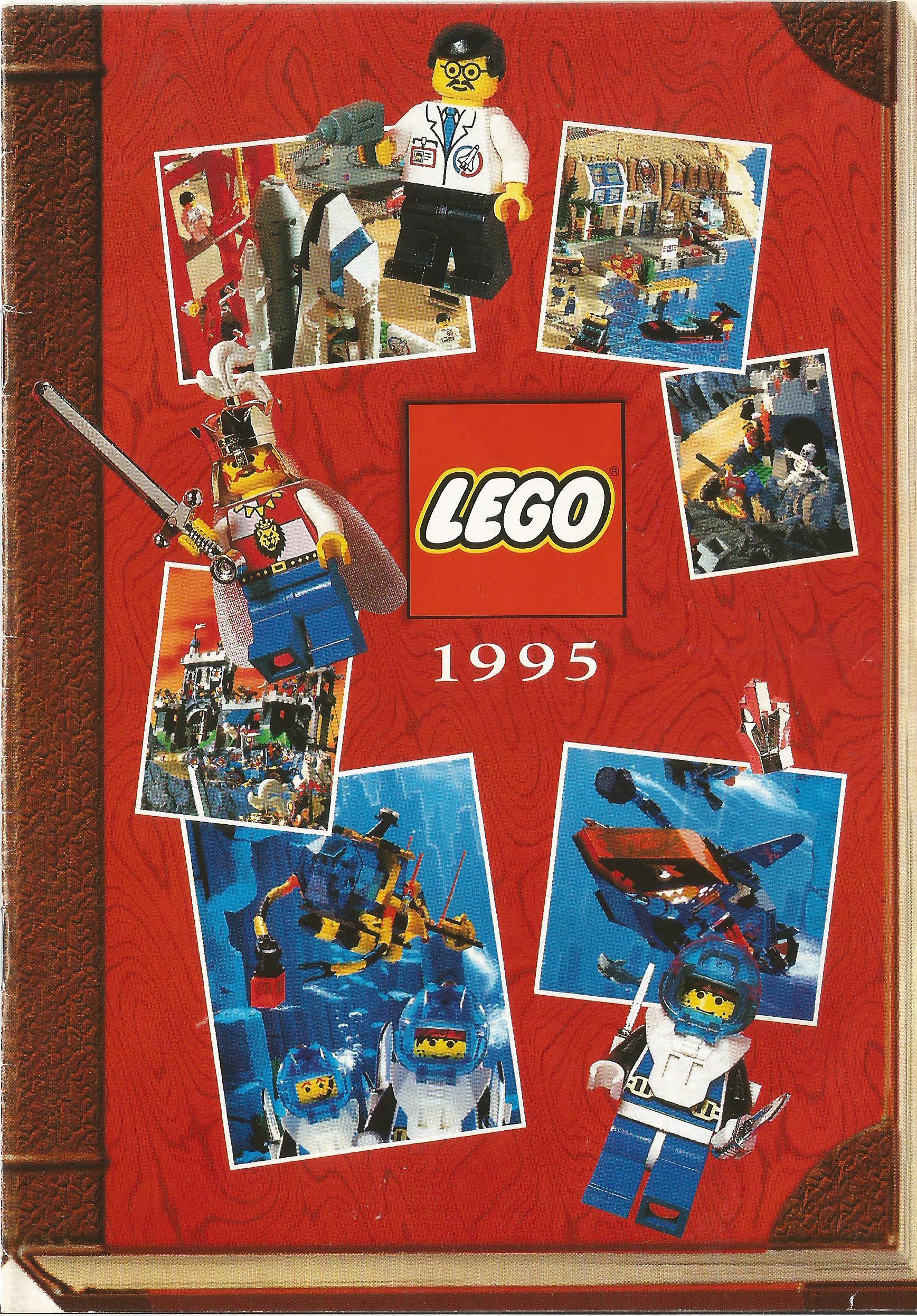 1995-ös kisméretű, magyar Lego katalógus