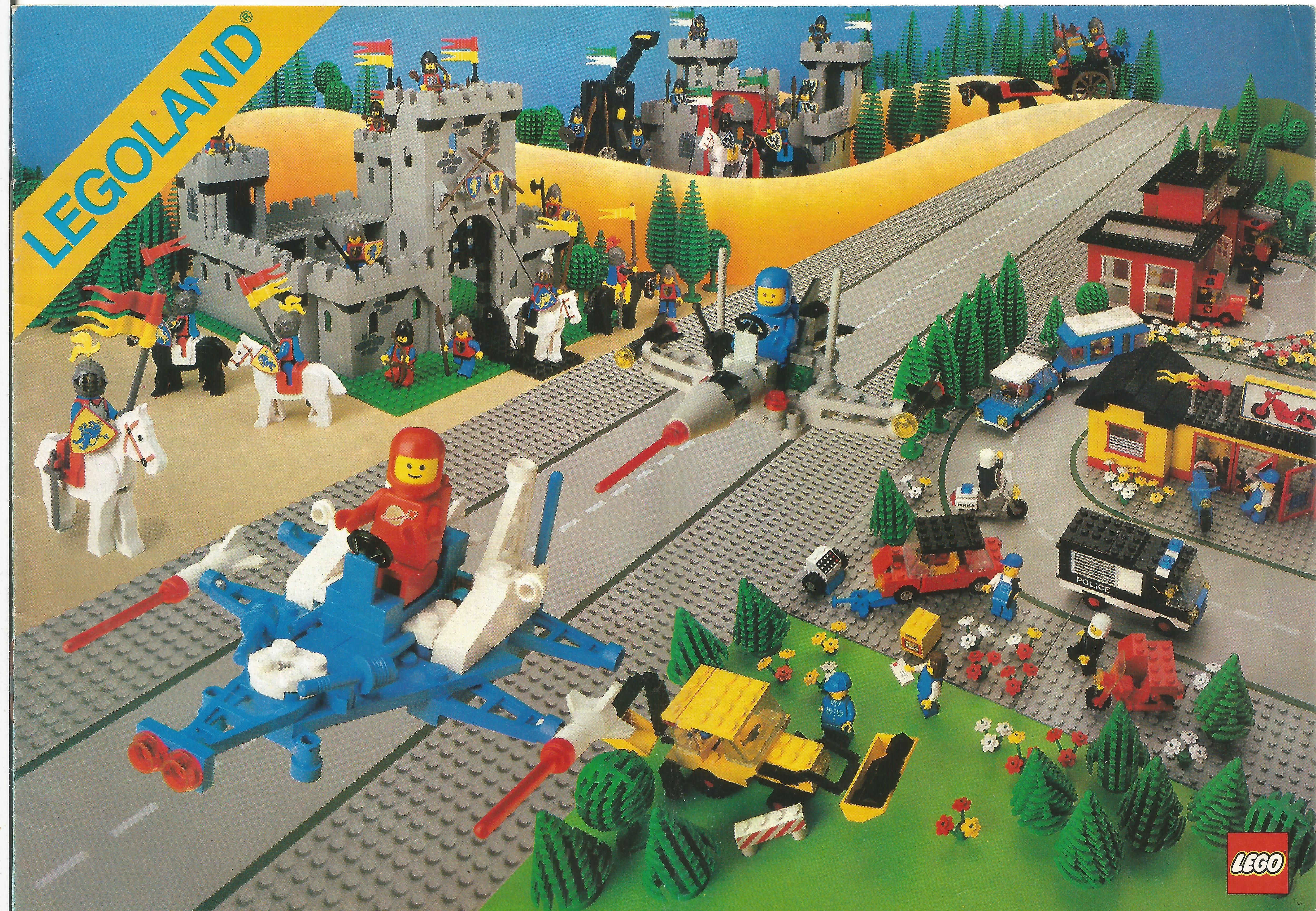 1984-es 3 nyelvű Legoland katalógus