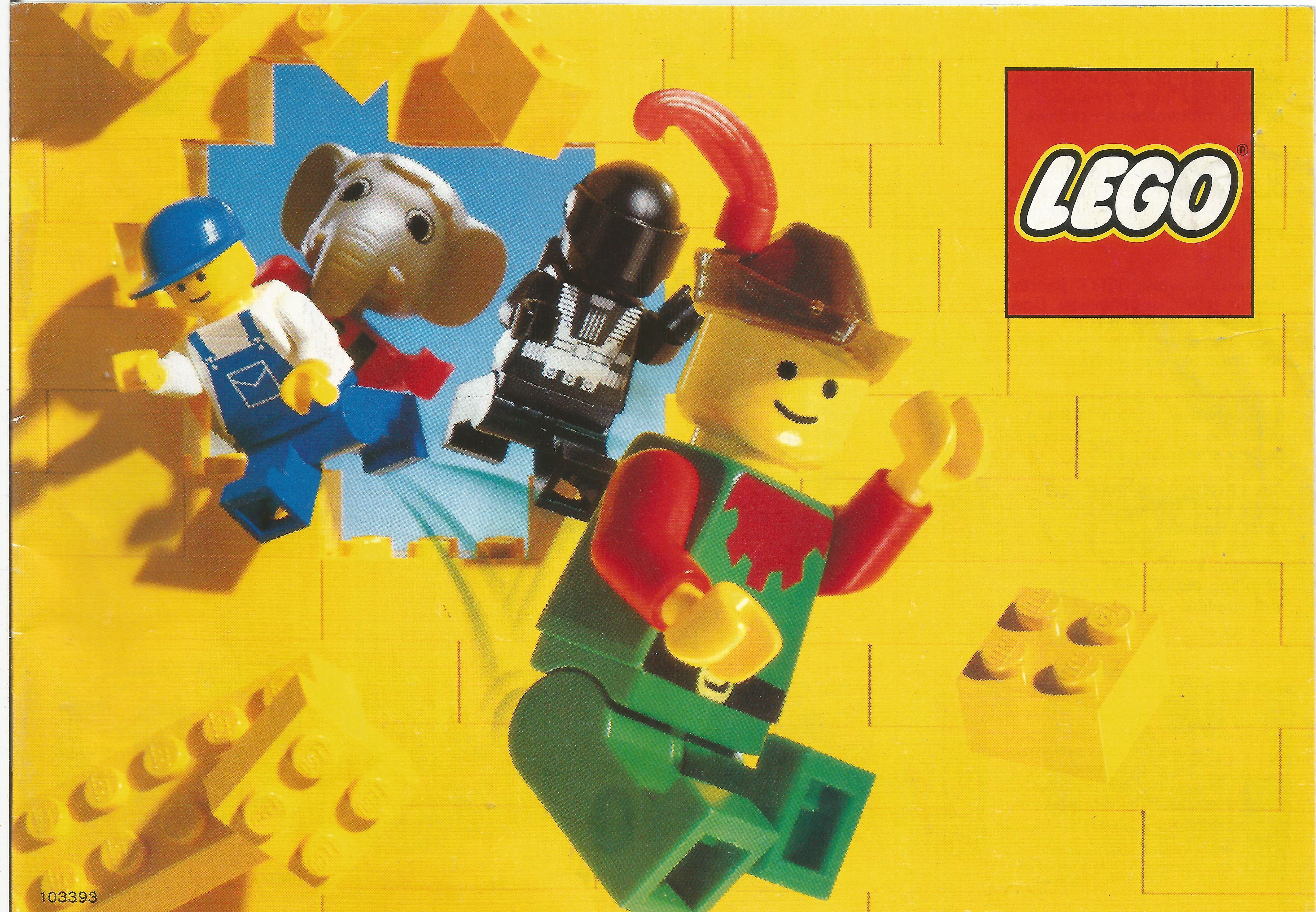 1988-as magyar (kelet-európai), kisméretű Lego katalógus