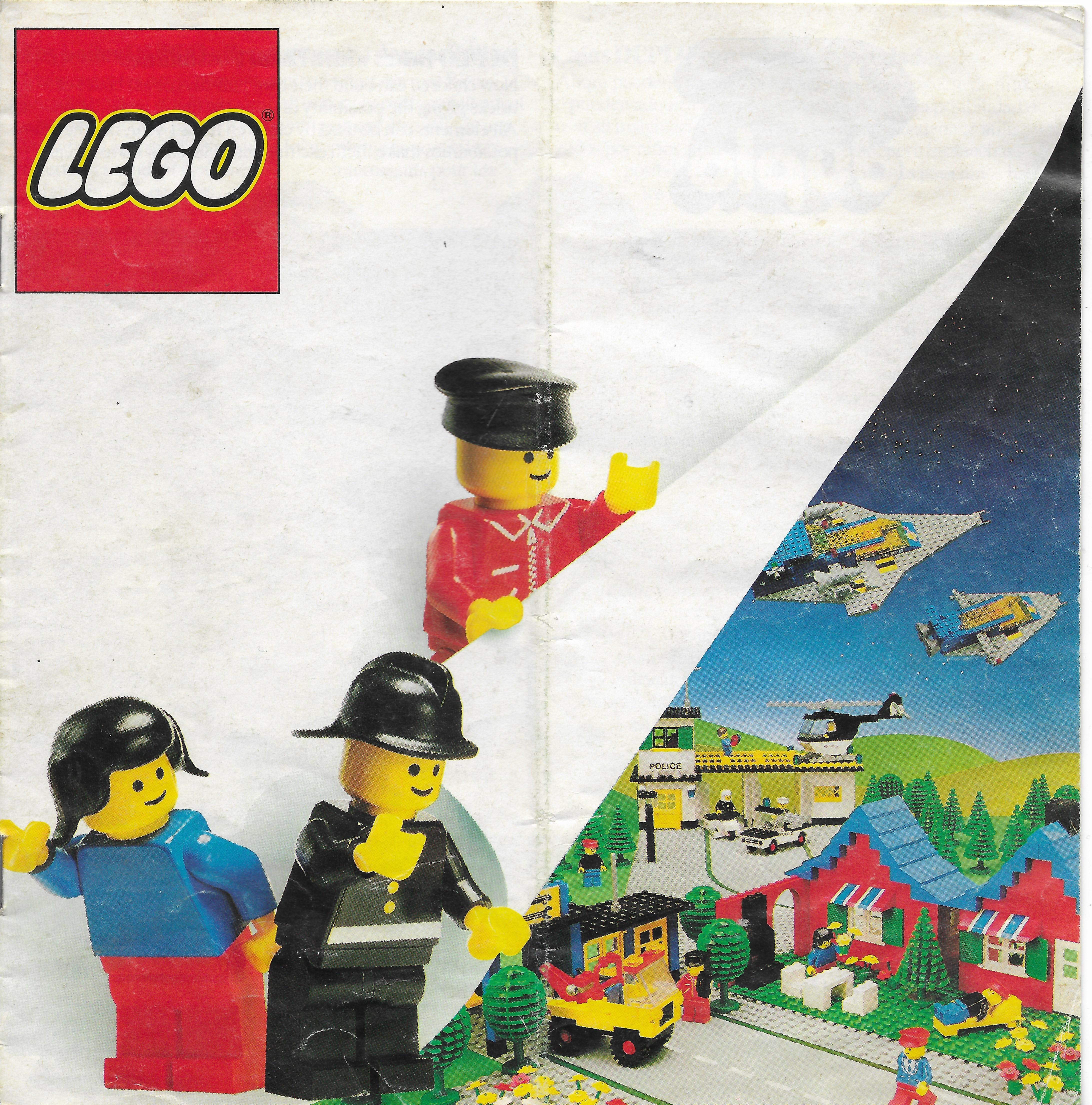 1980-as európai Lego katalógus